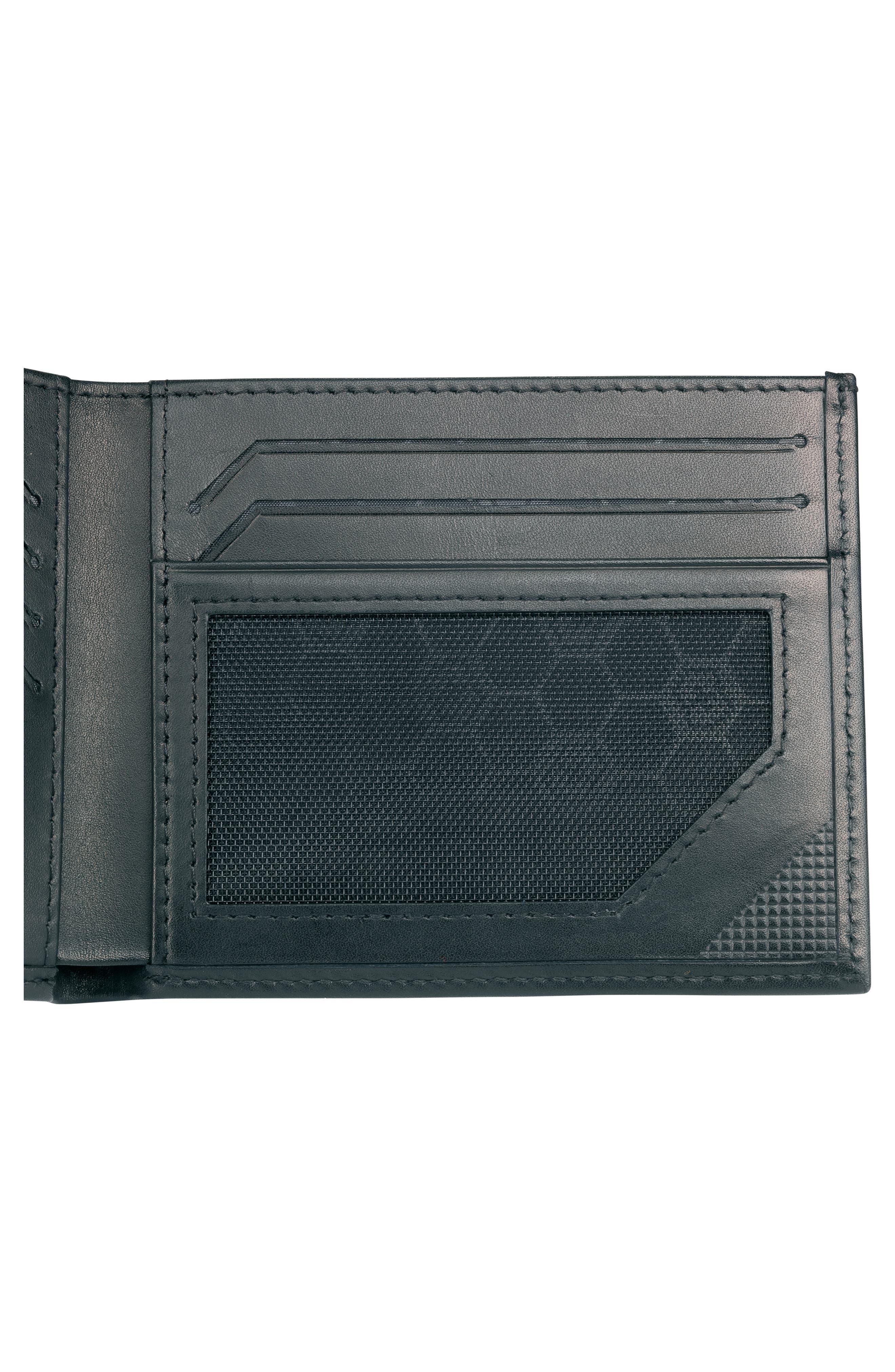 Altius Edge Zenon Wallet,                             Alternate thumbnail 3, color,                             BLACK