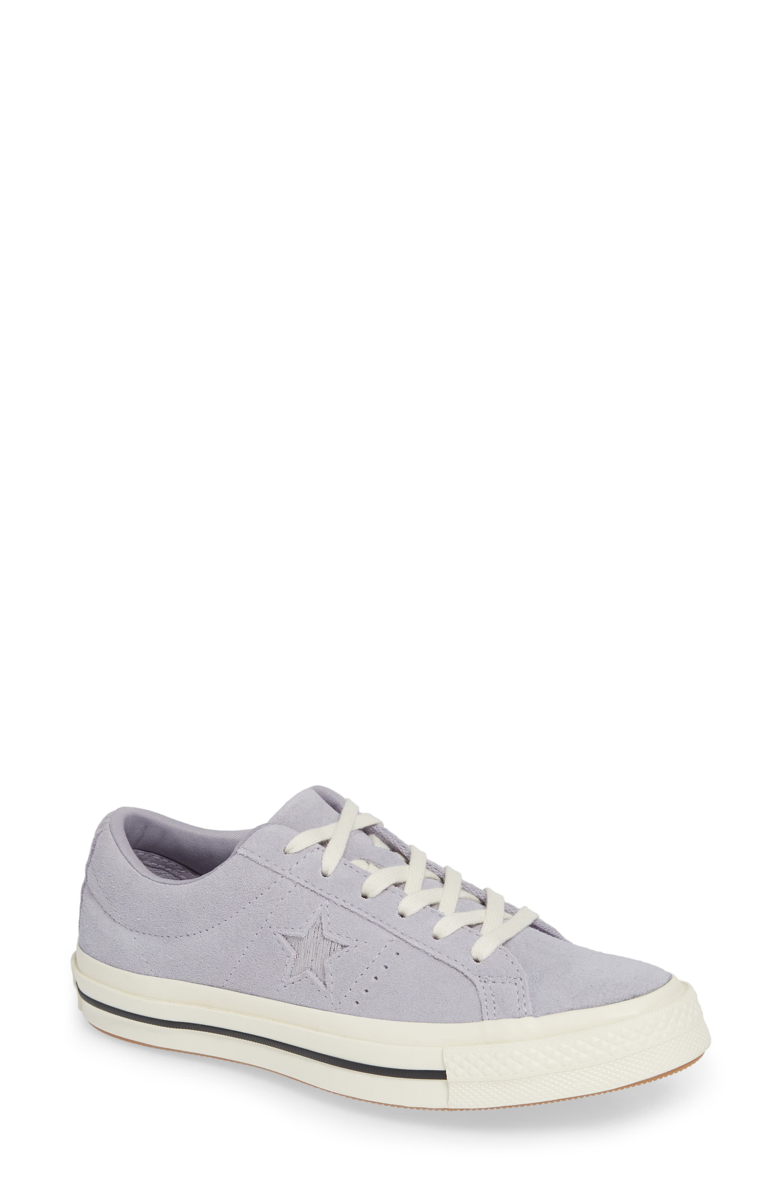 One Star Suede Low Top Sneaker,                             Main thumbnail 4, color,