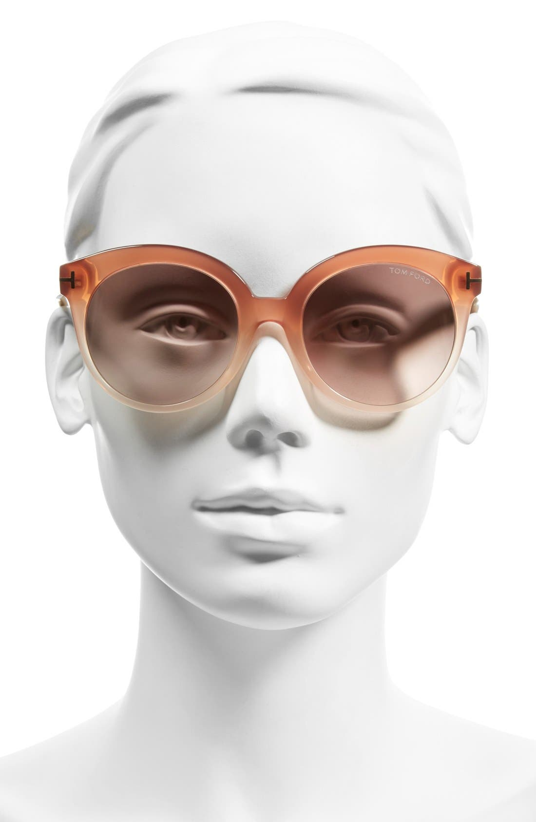 'Monica' 54mm Retro Sunglasses,                             Alternate thumbnail 9, color,