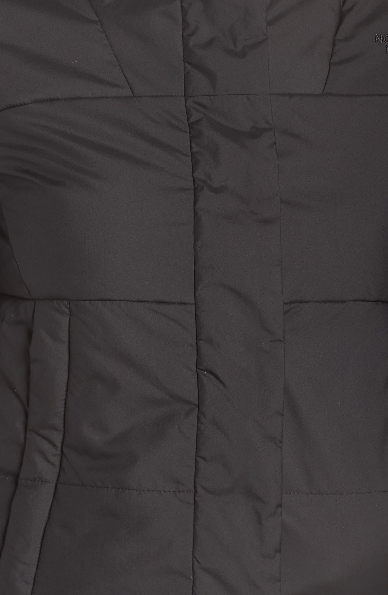 THE NORTH FACE,                             Femtastic Heatseeker Insulated Jacket,                             Alternate thumbnail 7, color,                             TNF BLACK