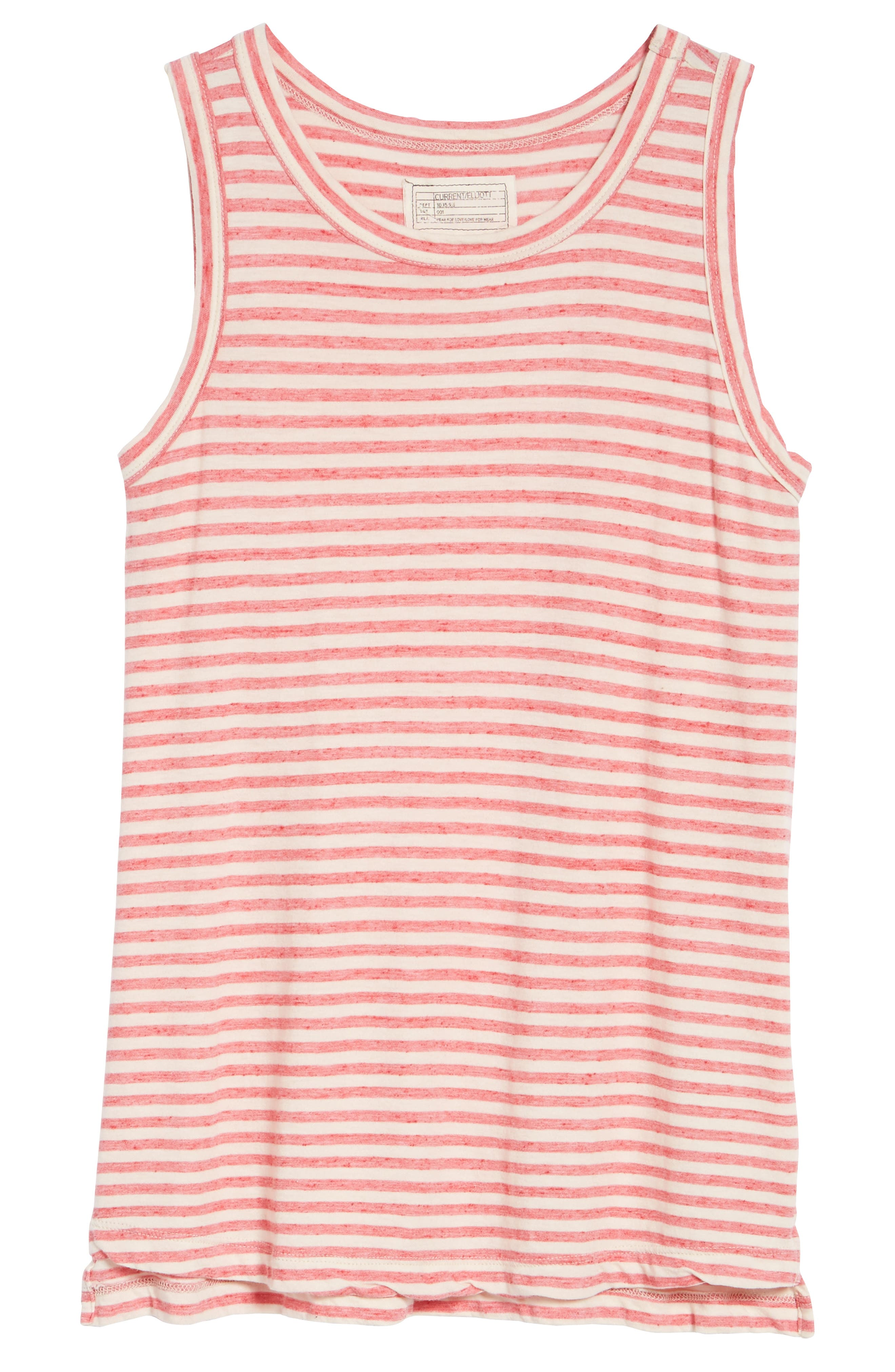 The Muscle Tee Stripe Tank,                             Alternate thumbnail 6, color,                             644