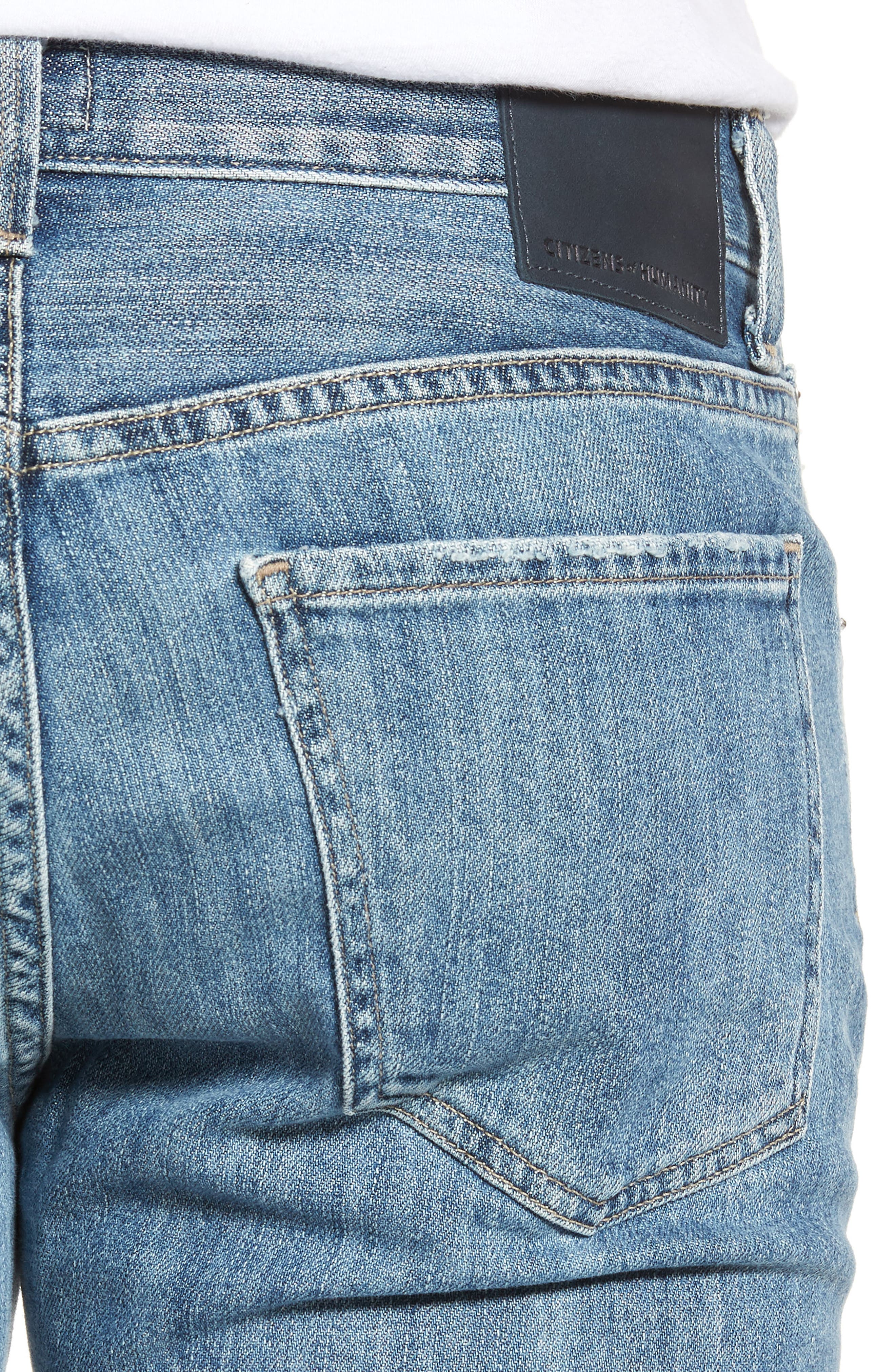 CITIZENS OF HUMANITY,                             Sid Straight Leg Jeans,                             Alternate thumbnail 4, color,                             456