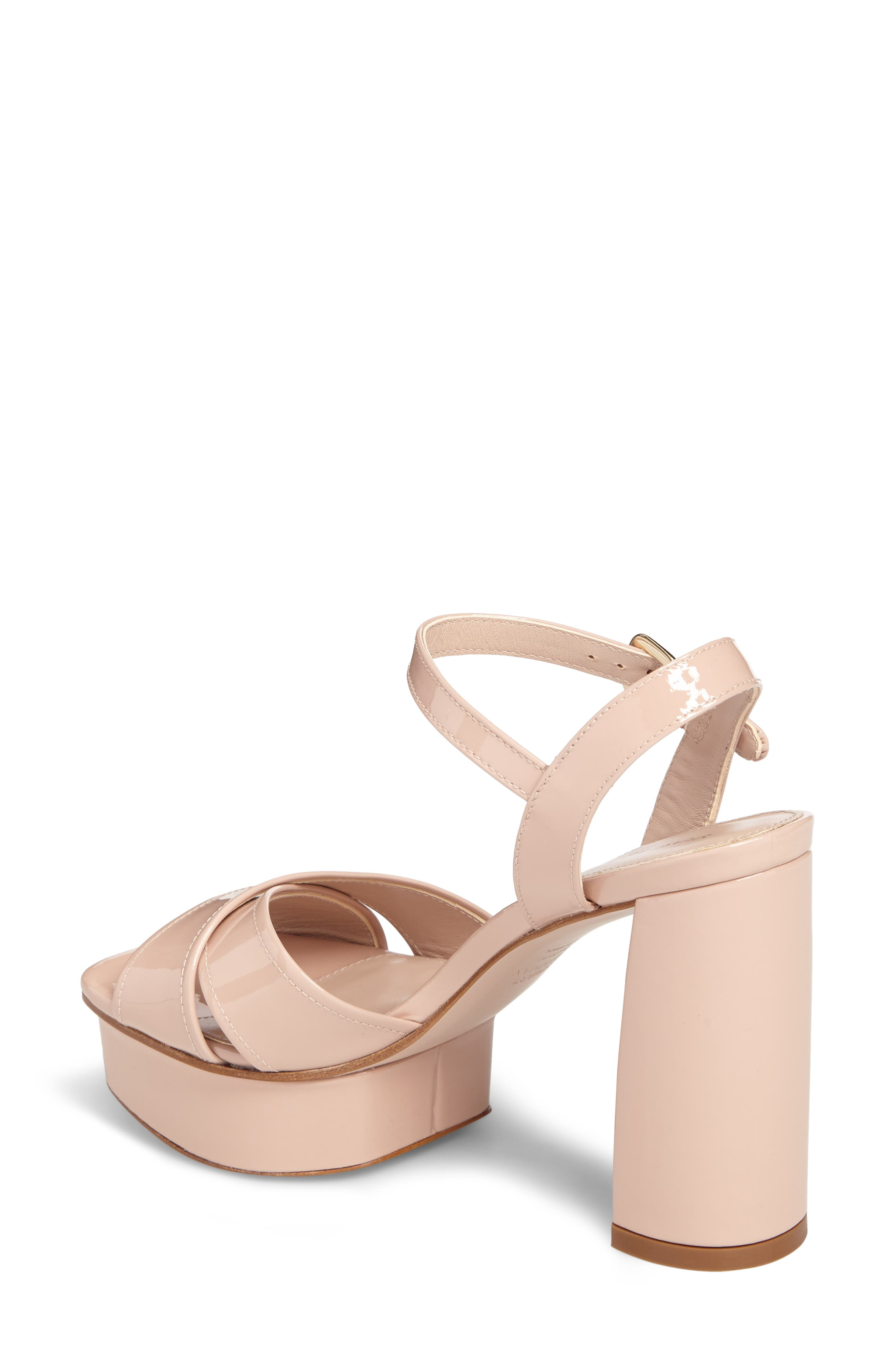 Exposed Platform Sandal,                             Alternate thumbnail 8, color,