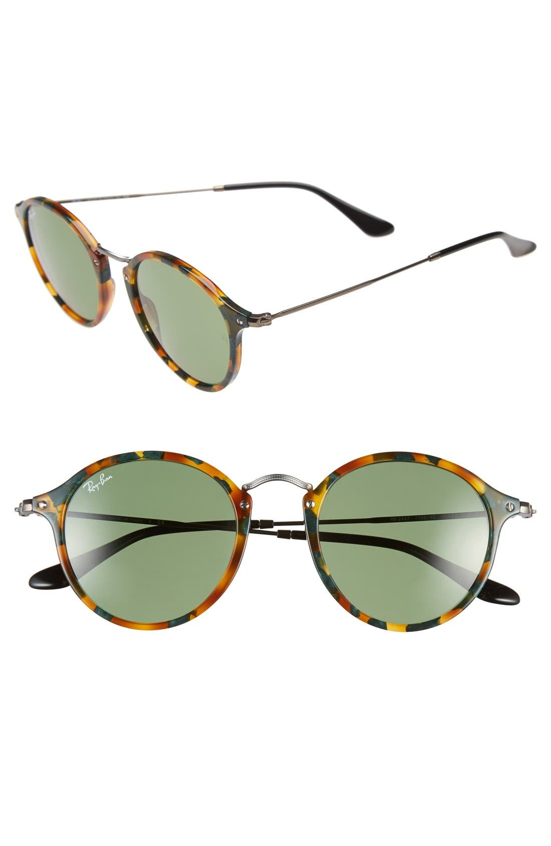 'Icon' 49mm Sunglasses,                             Main thumbnail 4, color,
