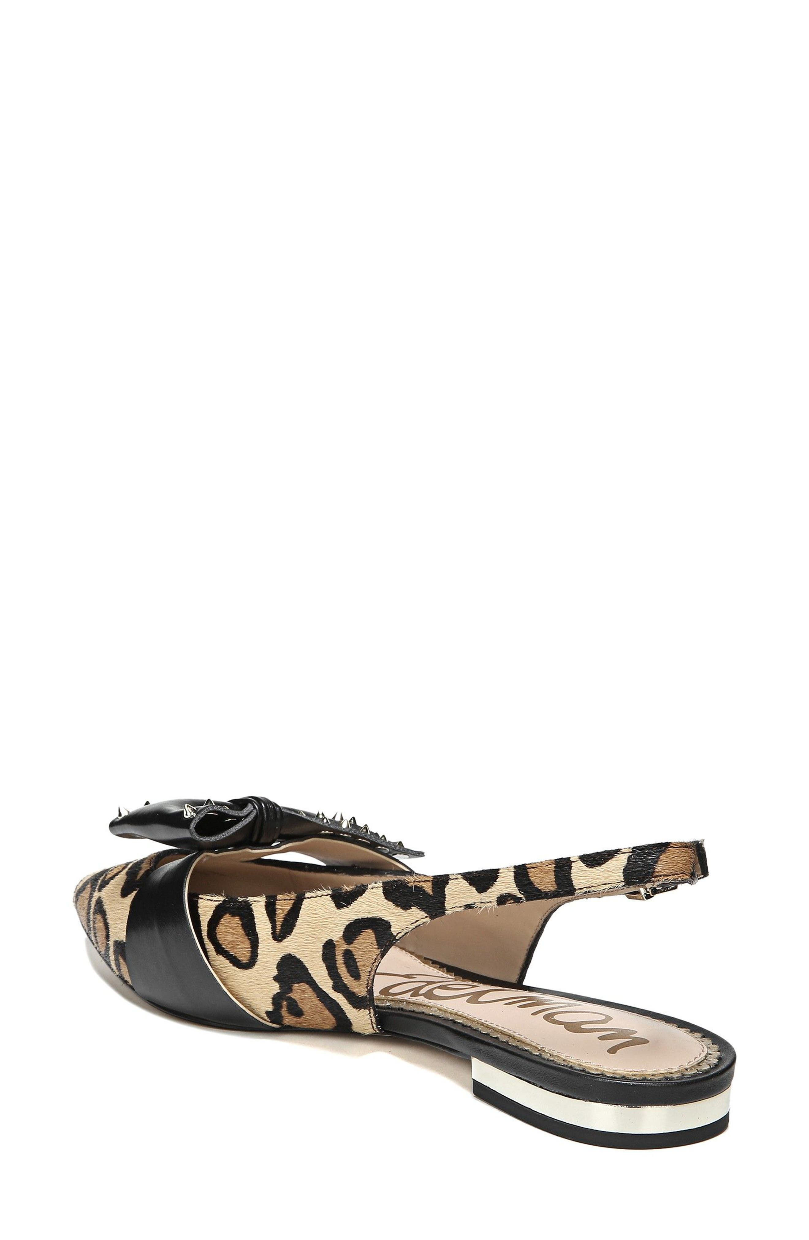 Rupert Bow Pointy Toe Flat,                             Alternate thumbnail 2, color,                             001