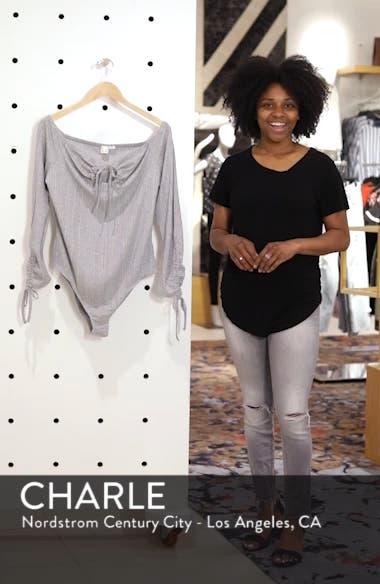 Bardot Ribbed Bodysuit, sales video thumbnail