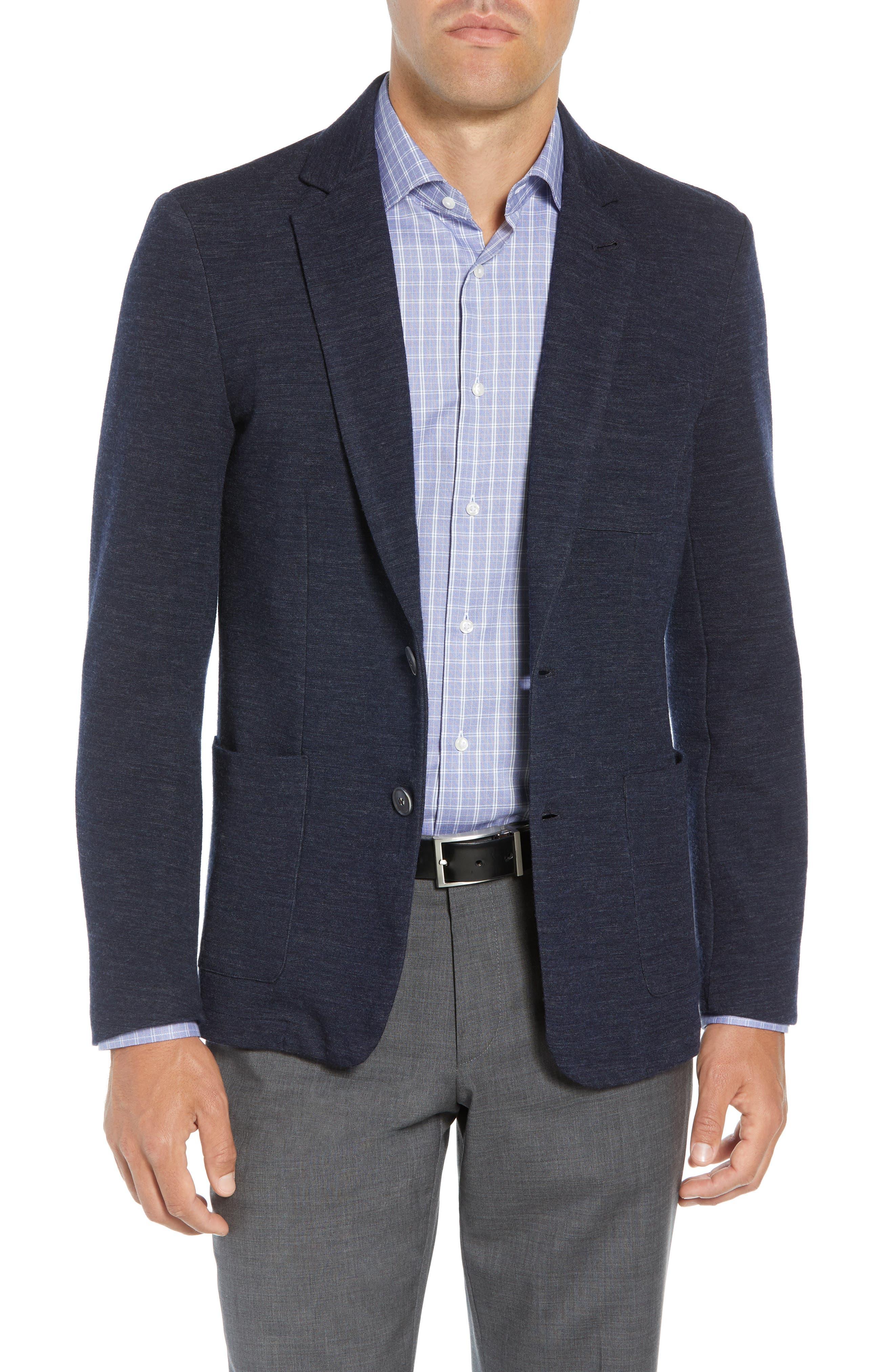 Granite Regular Fit Knit Sport Coat,                         Main,                         color, 410
