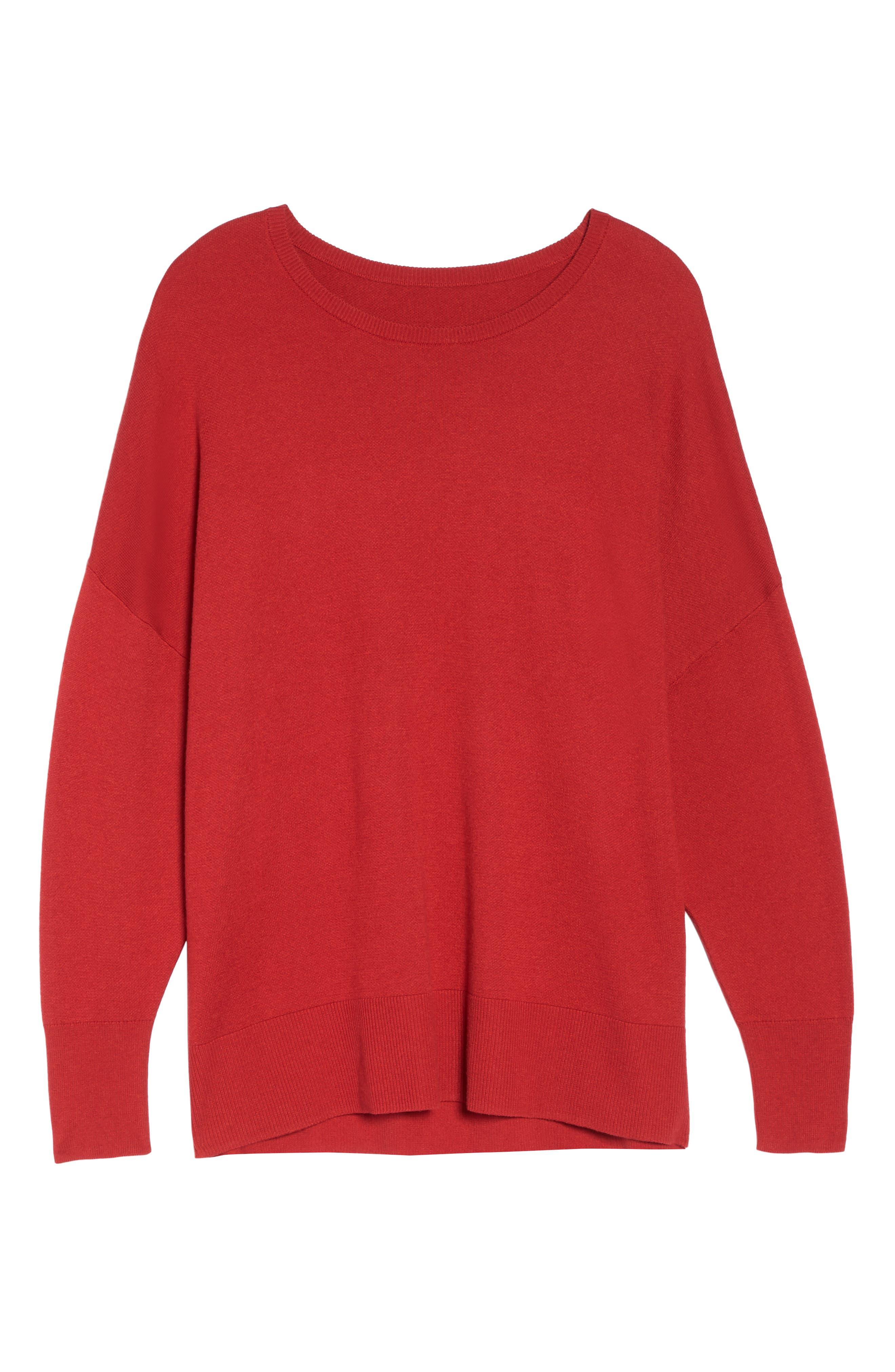 Dolman Sleeve Crewneck Sweater,                             Alternate thumbnail 30, color,