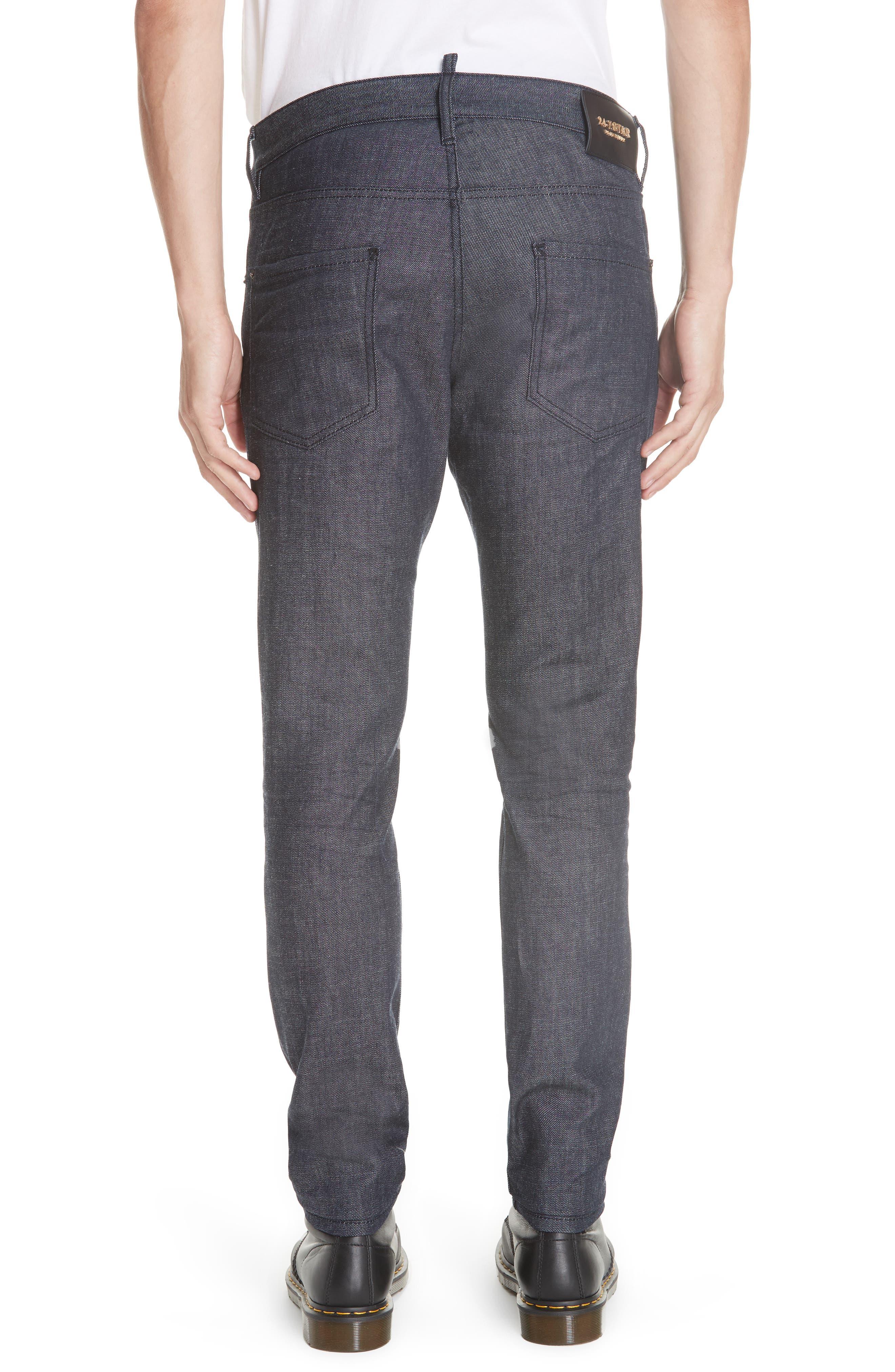 Cool Guy Jeans,                             Alternate thumbnail 2, color,                             DARK WASH