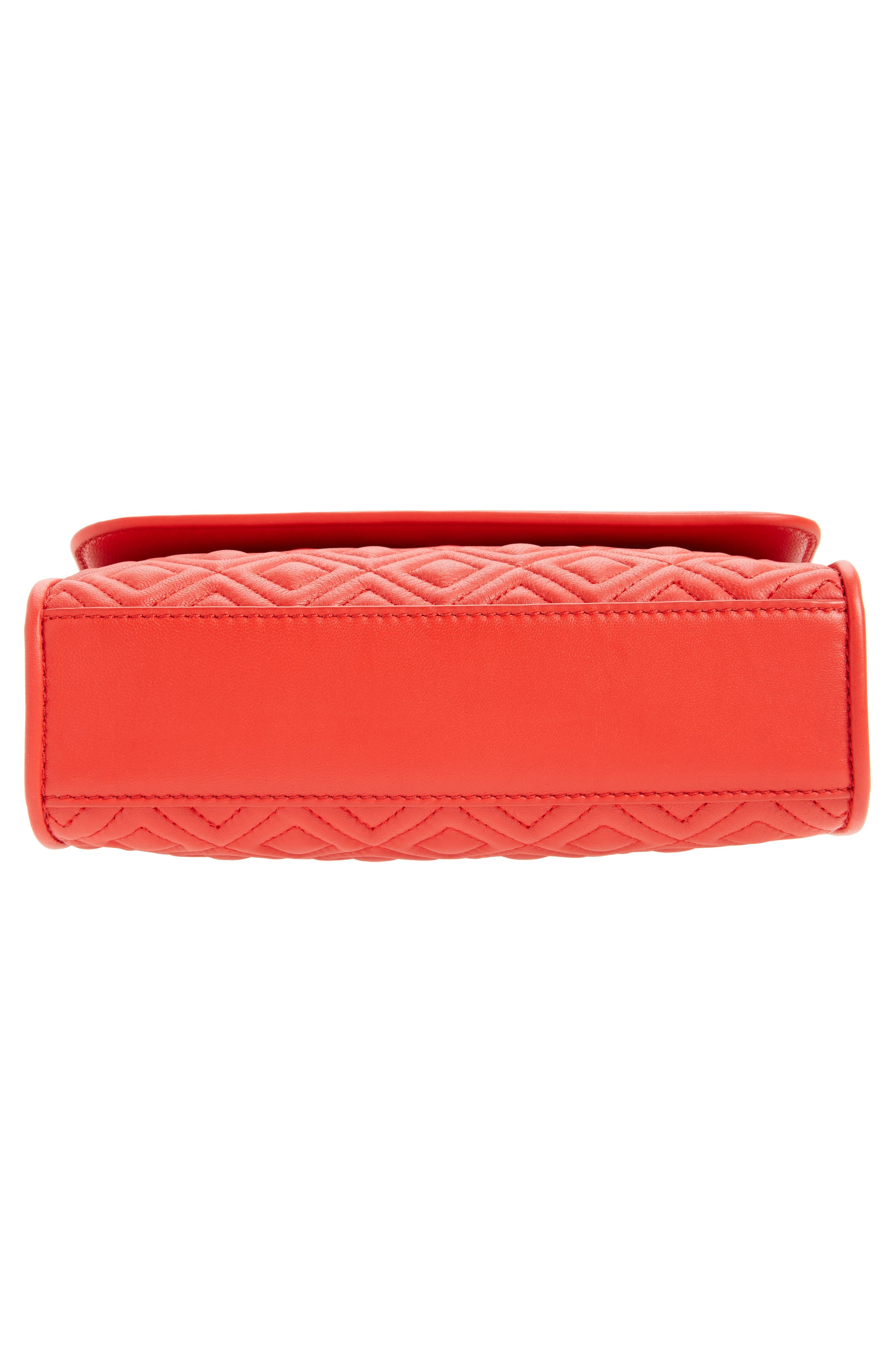 'Small Fleming' Quilted Leather Shoulder Bag,                             Alternate thumbnail 24, color,