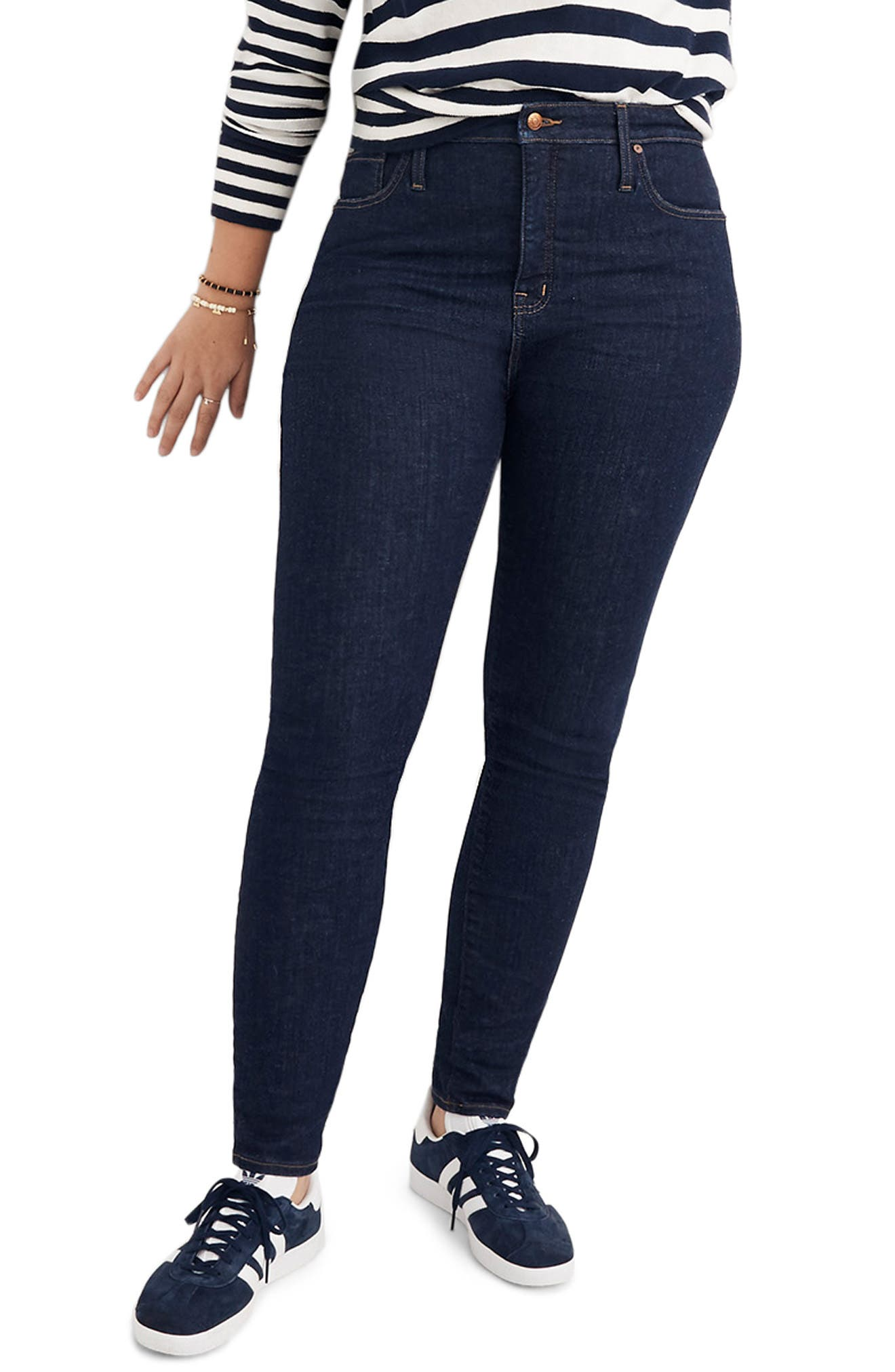 Curvy High Waist Skinny Jeans,                             Alternate thumbnail 2, color,                             LUCILLE WASH