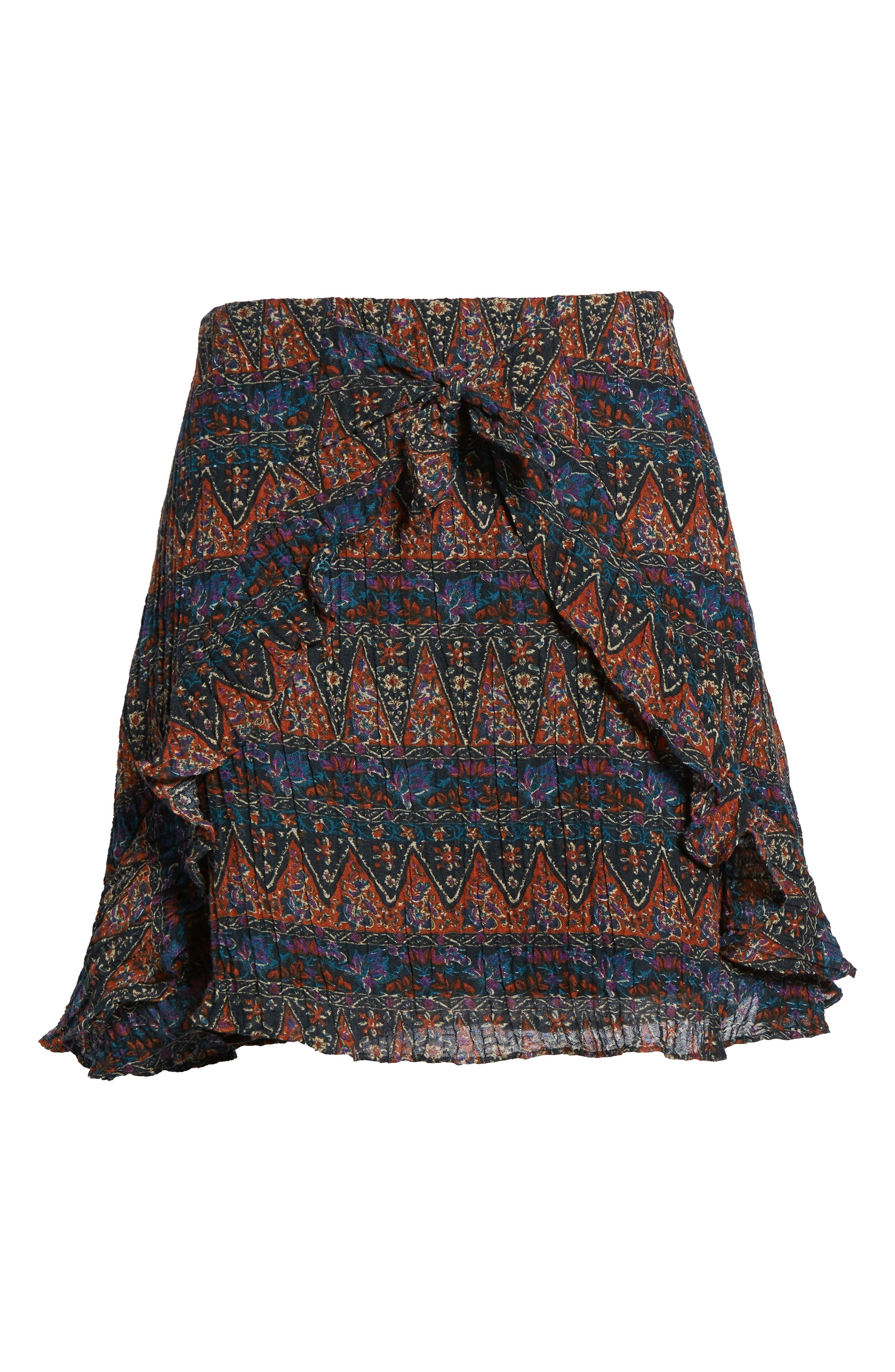Bali Tie Front Skirt,                             Alternate thumbnail 6, color,