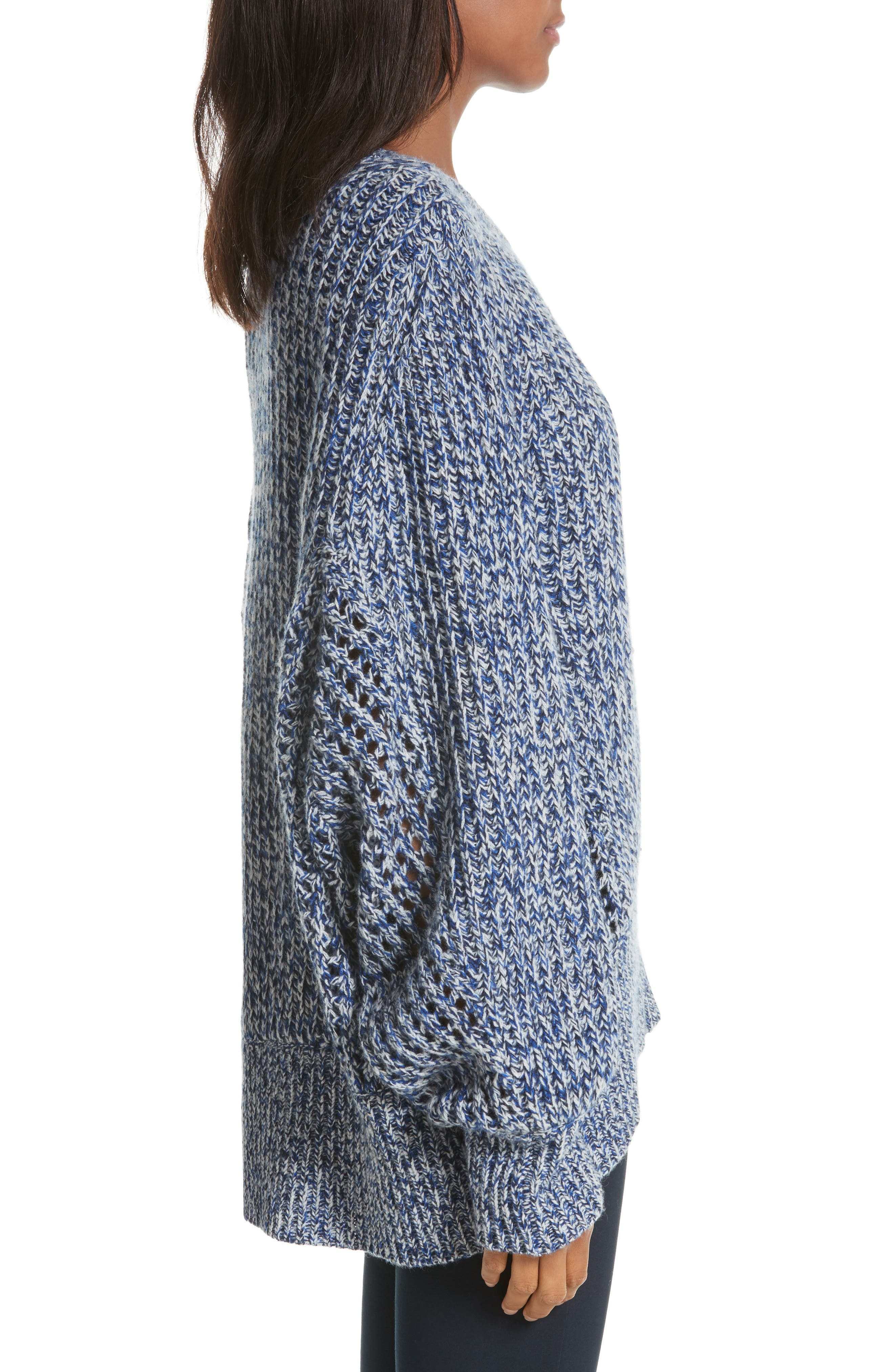 Athena Cashmere Pullover,                             Alternate thumbnail 3, color,                             403