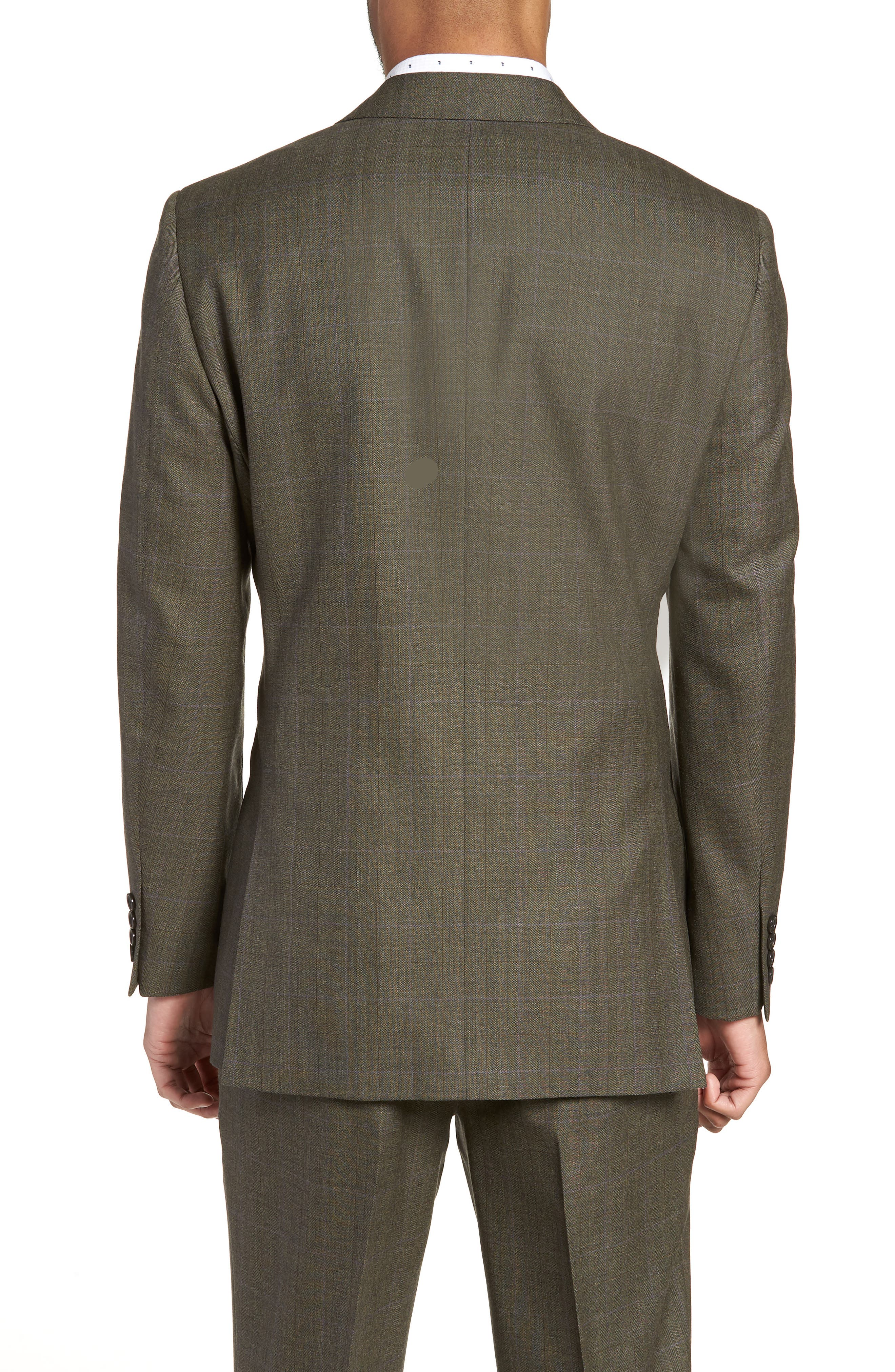 Ludlow Trim Fit Herringbone Wool Sport Coat,                             Alternate thumbnail 2, color,                             301
