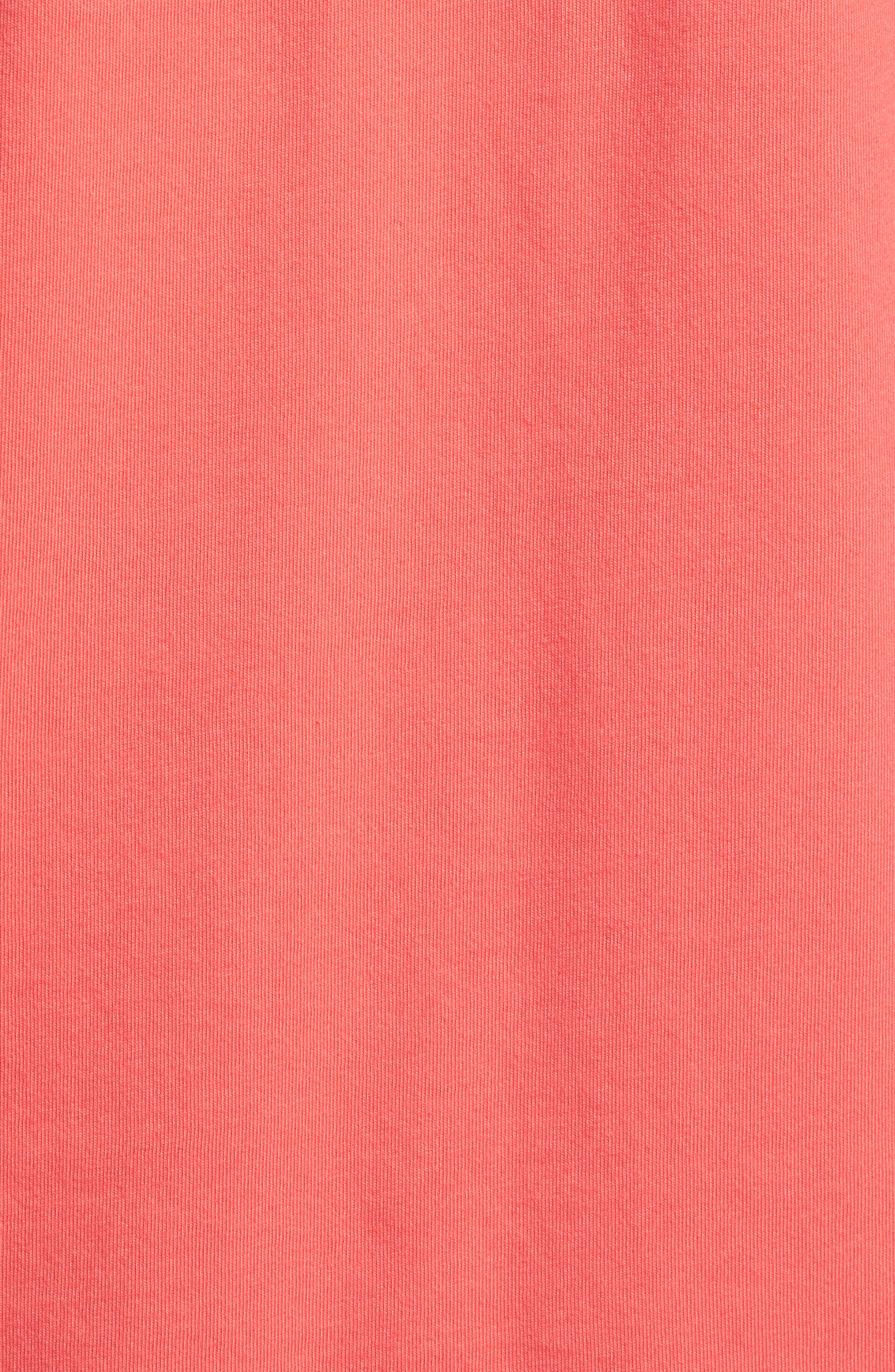 School Of Sharks Crewneck Cotton T-Shirt,                             Alternate thumbnail 5, color,                             682