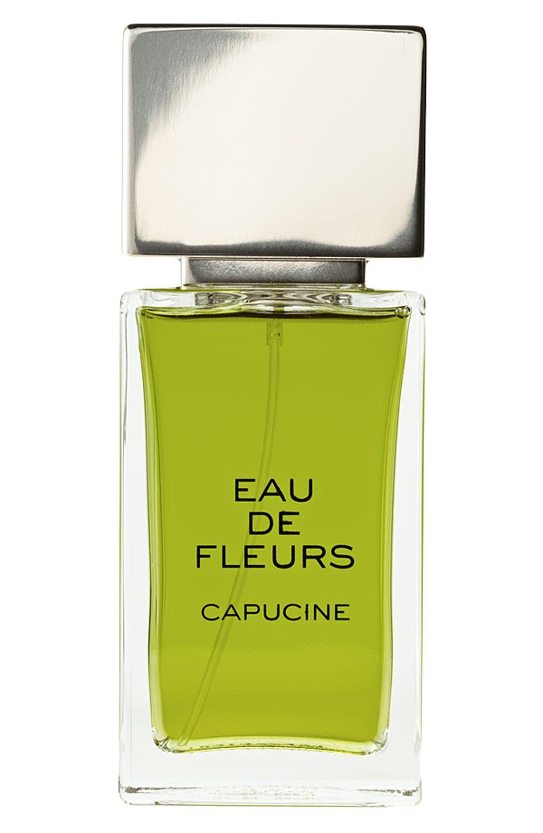 'Eau de Fleurs - Capucine' Fragrance, Main, color, 000