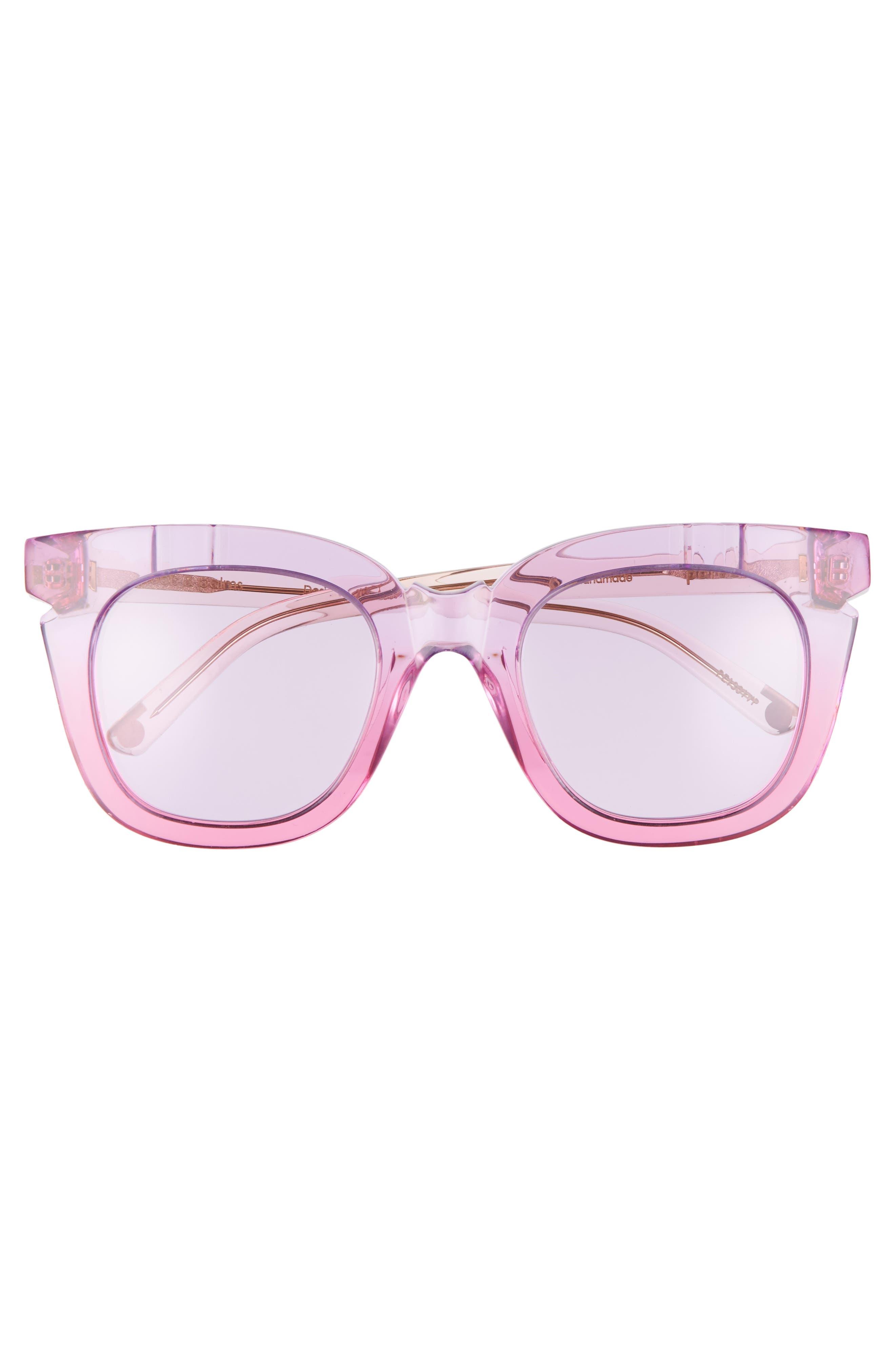Pools & Palms 50mm Sunglasses,                             Alternate thumbnail 3, color,                             650