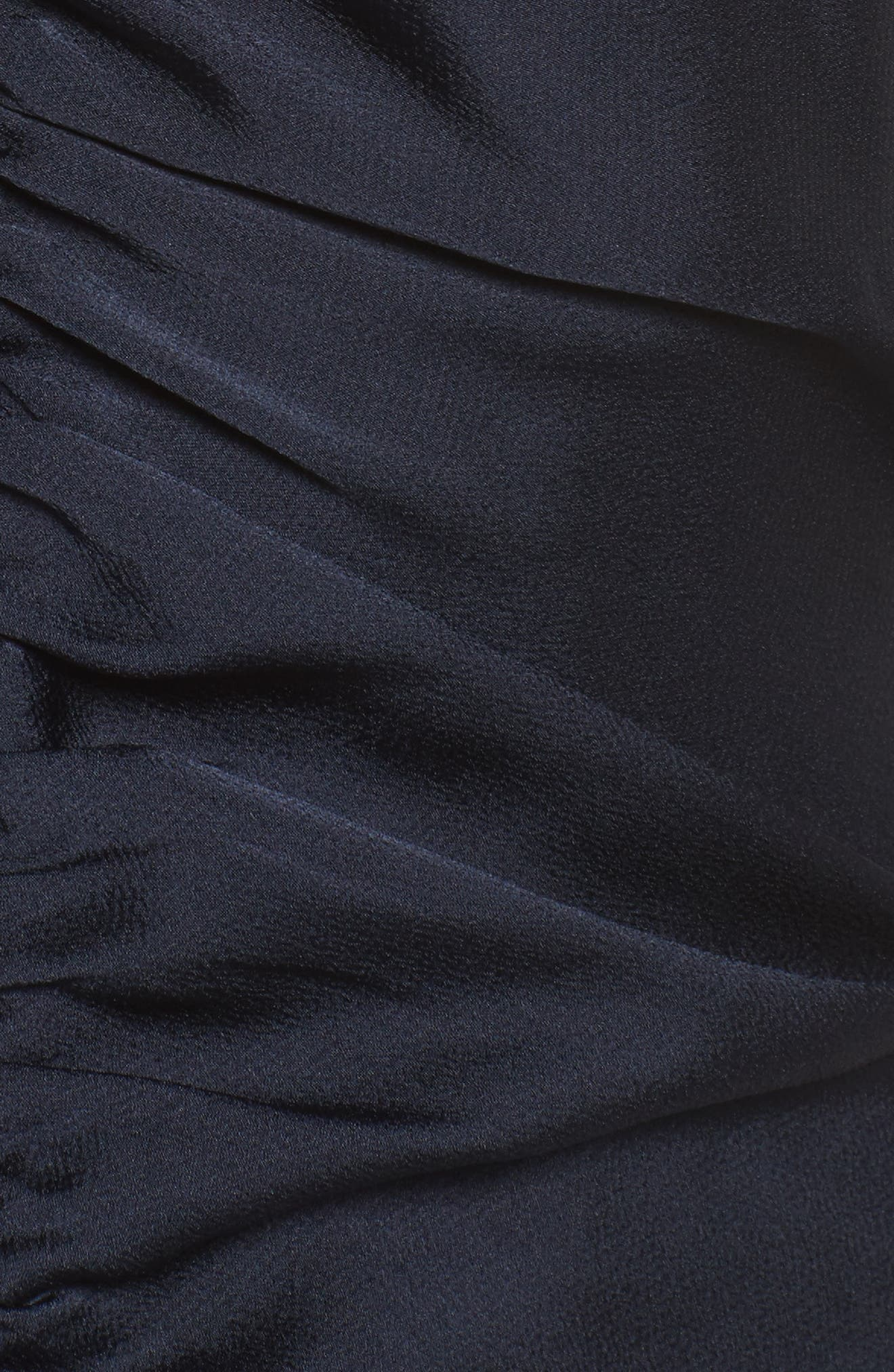 Dark Paradise Strappy Back Ruched Midi Dress,                             Alternate thumbnail 5, color,                             410