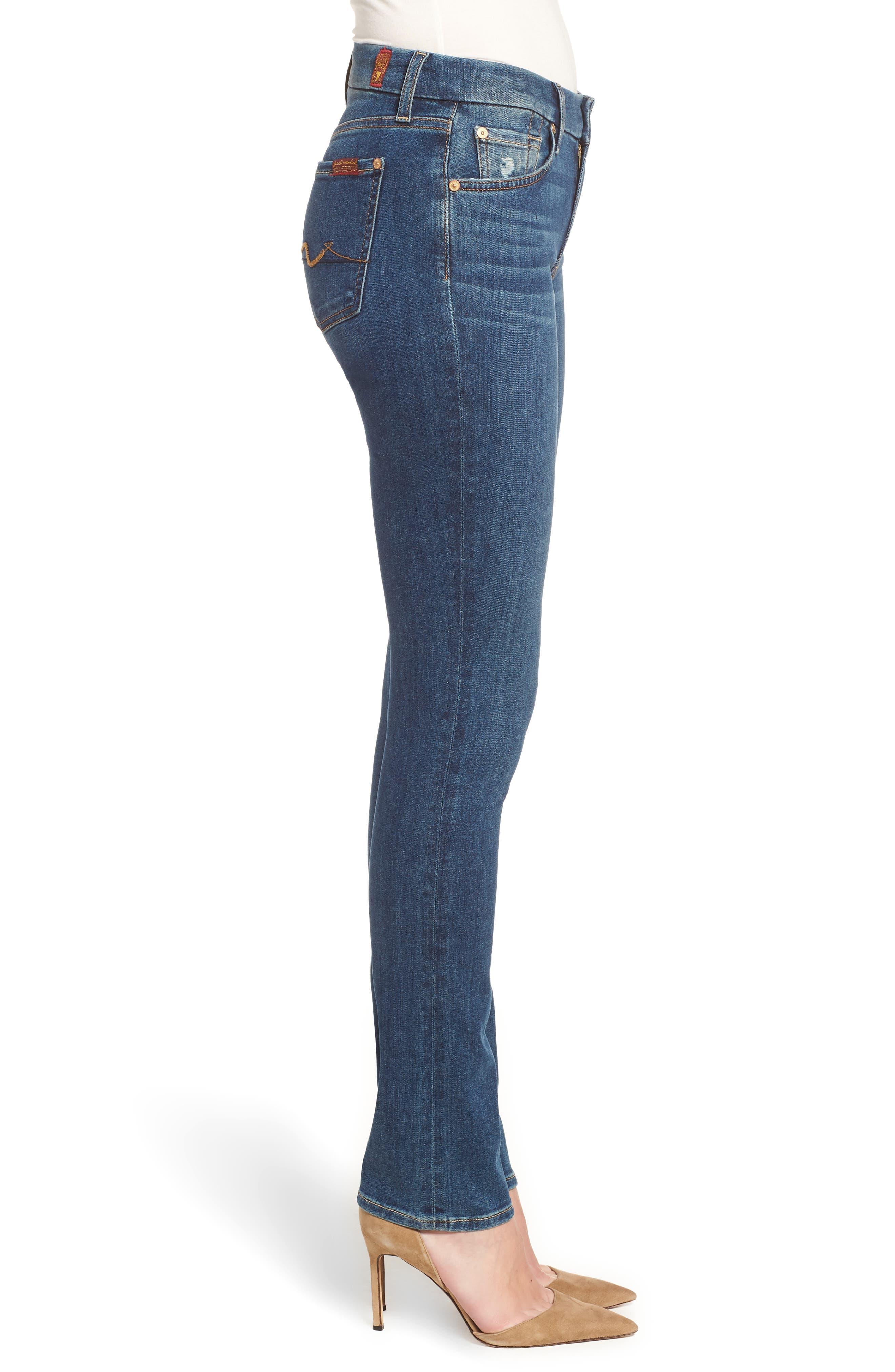 Kimmie Straight Leg Jeans,                             Alternate thumbnail 3, color,                             GLAM MEDIUM