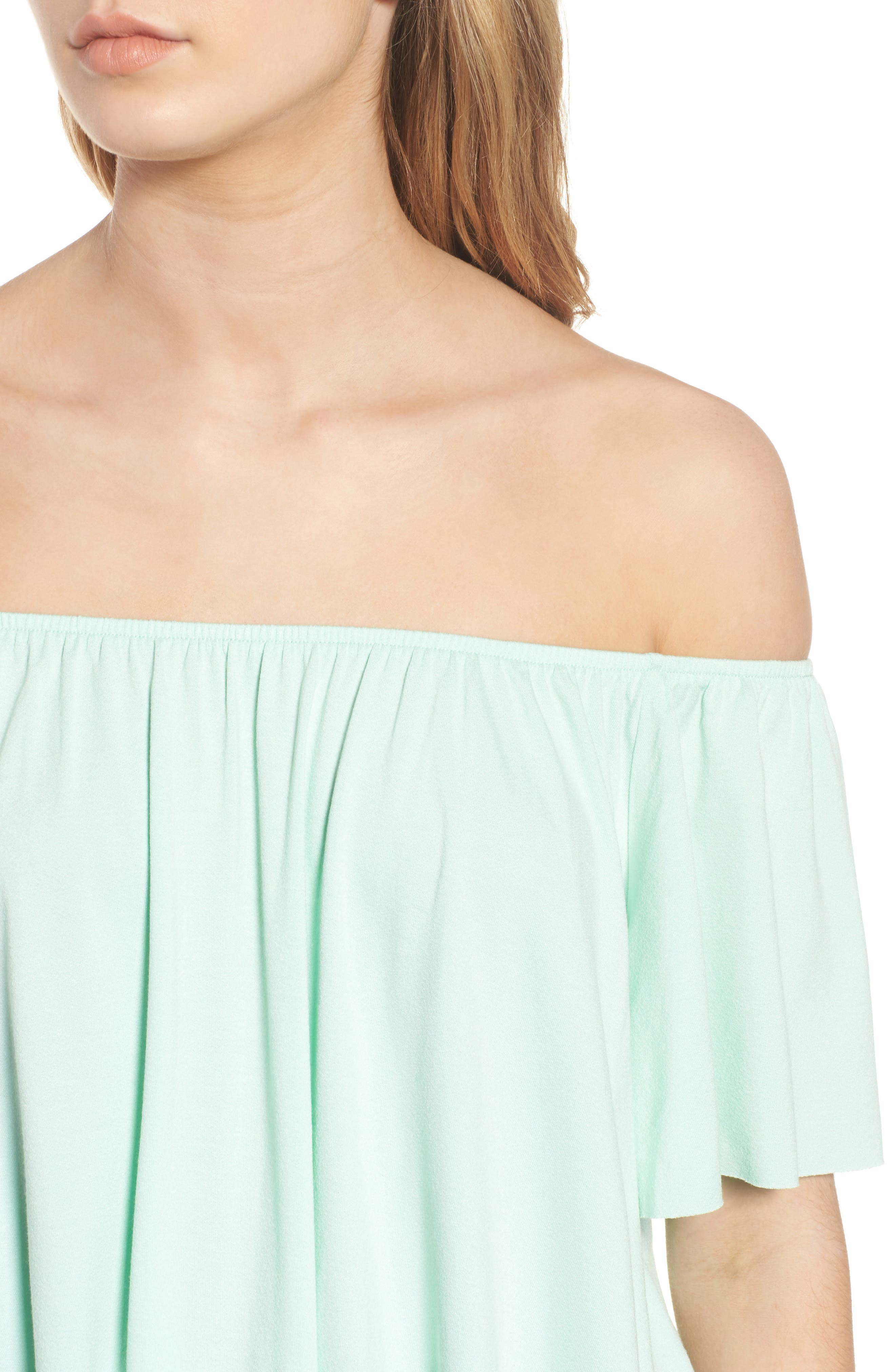Off the Shoulder Top,                             Alternate thumbnail 25, color,