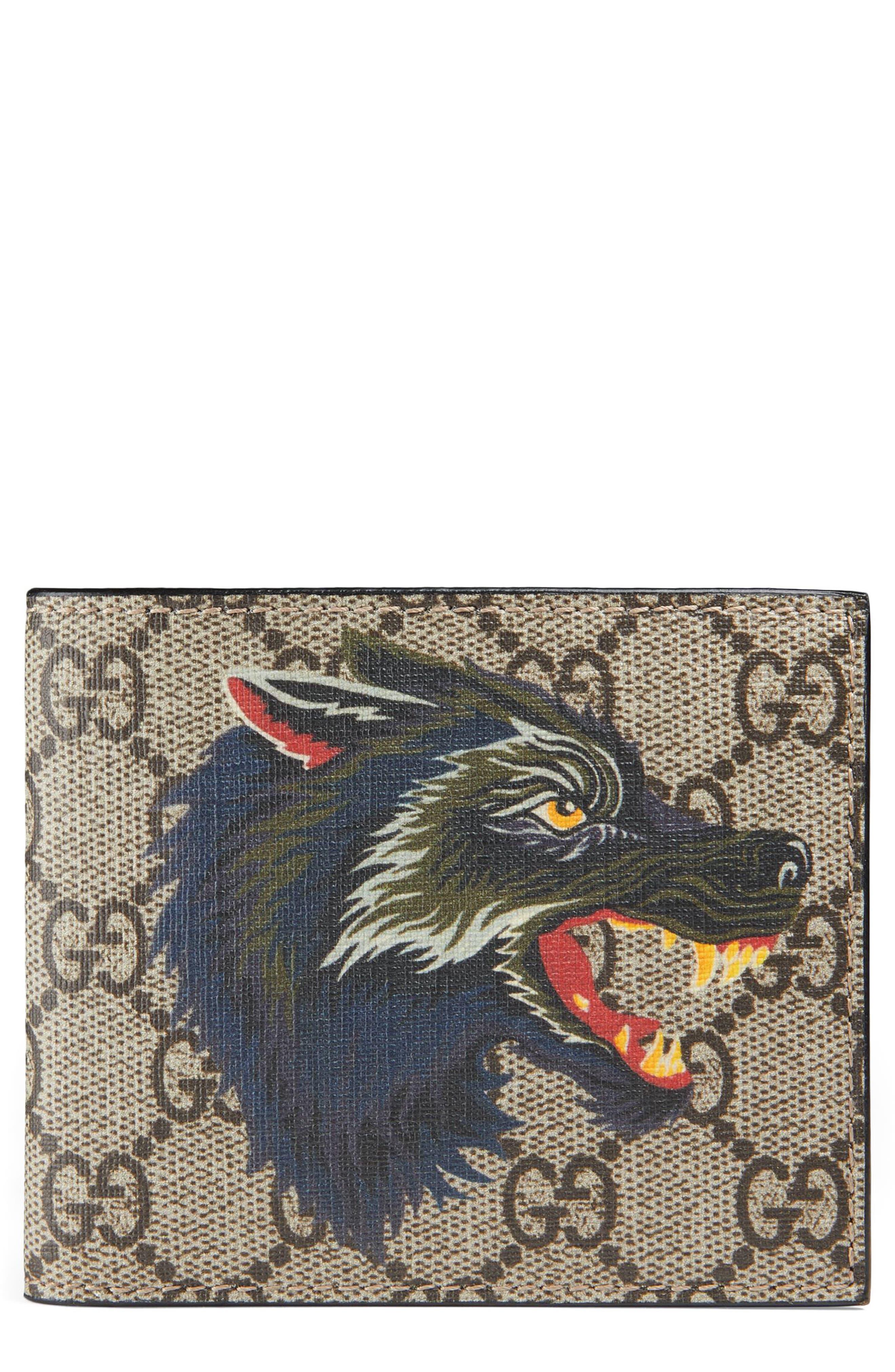 Wolf Bifold Wallet,                             Main thumbnail 1, color,                             250