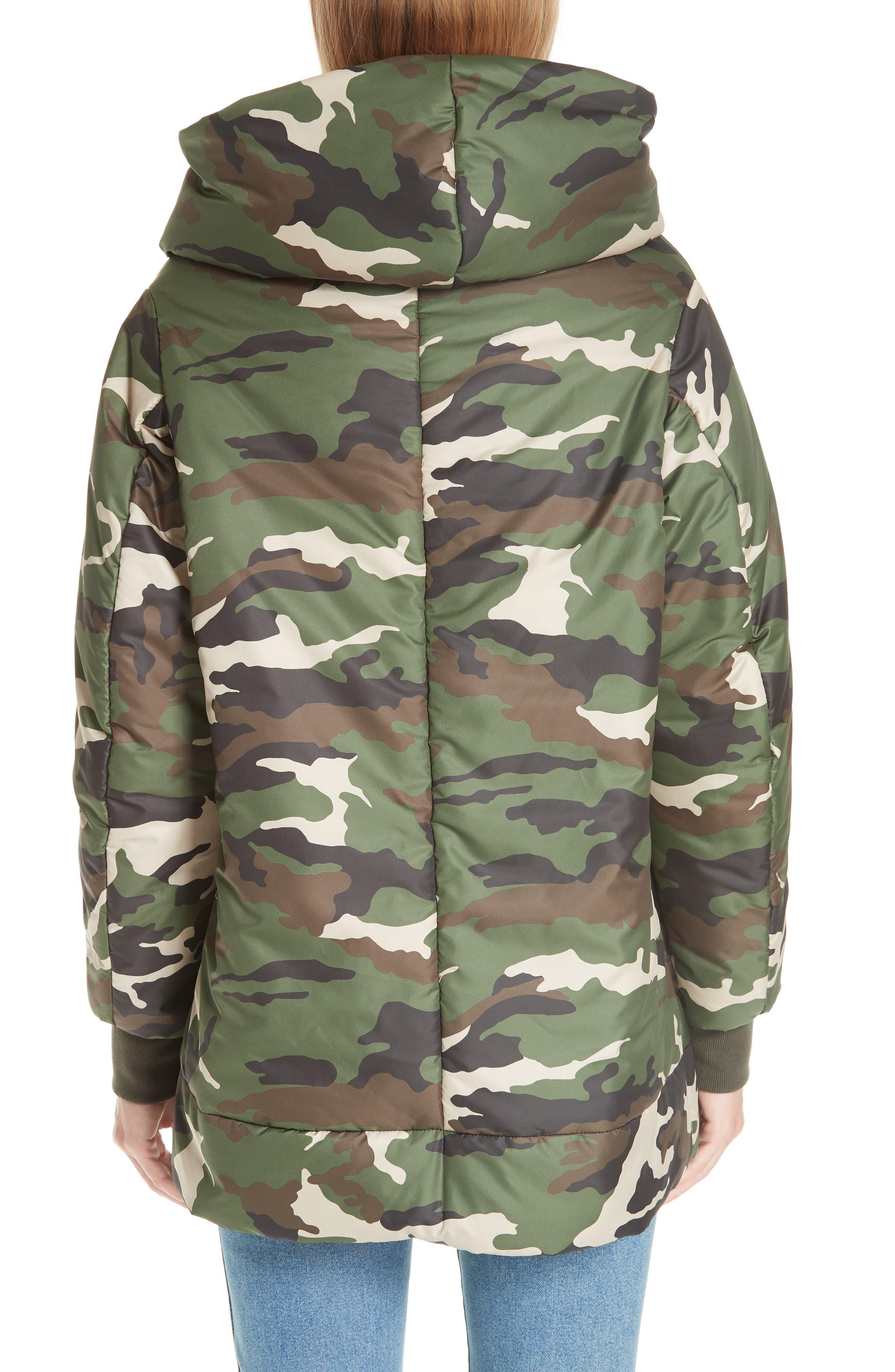 BACON,                             Big Blanket 78 Camo Puffer Coat,                             Alternate thumbnail 2, color,                             300