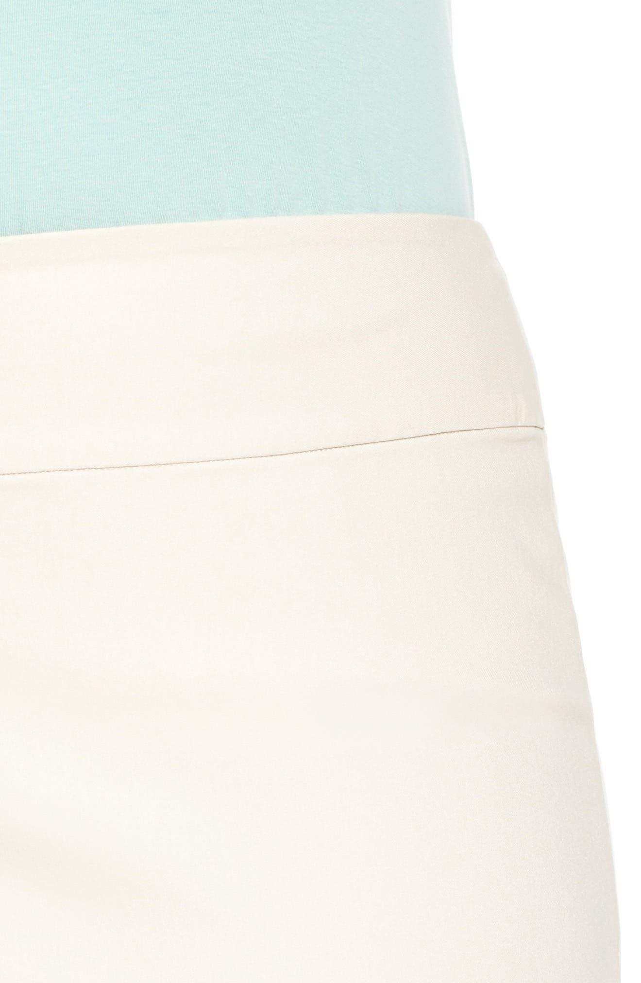'Wonder Stretch' Straight Leg Pants,                             Alternate thumbnail 4, color,                             SANDSHELL