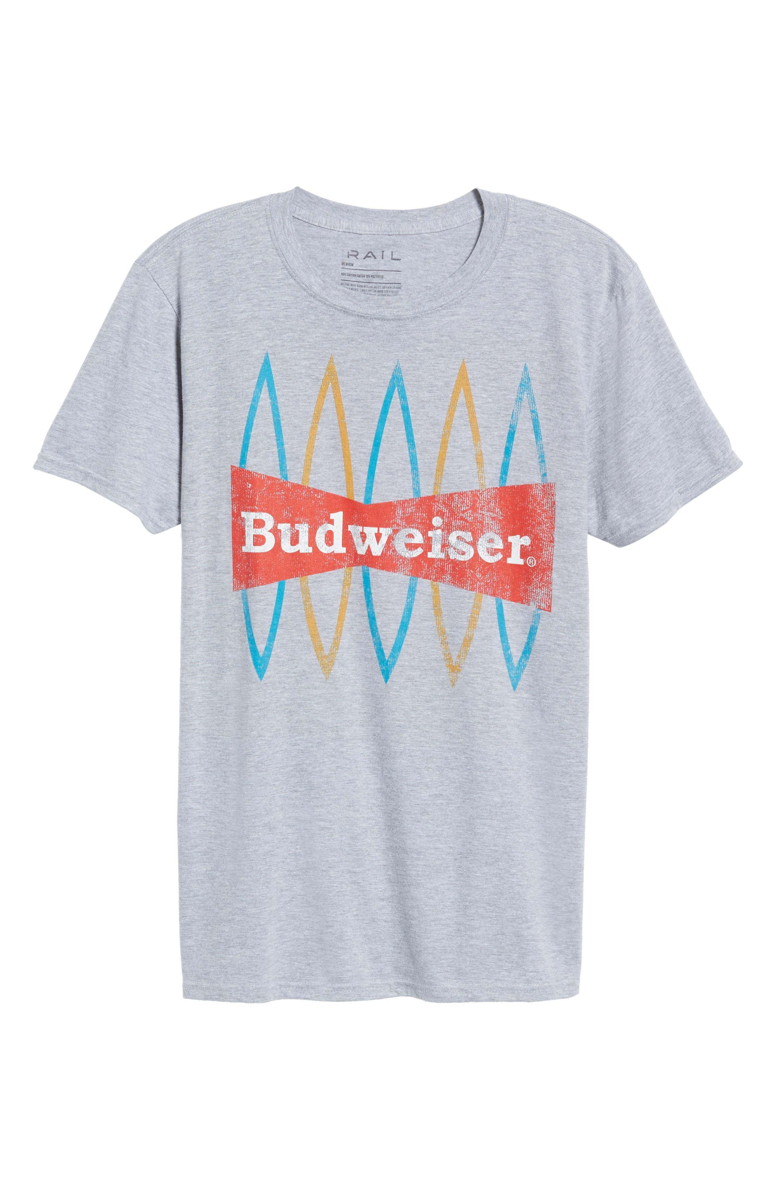 Budweiser<sup>®</sup> T-Shirt,                             Alternate thumbnail 6, color,                             030