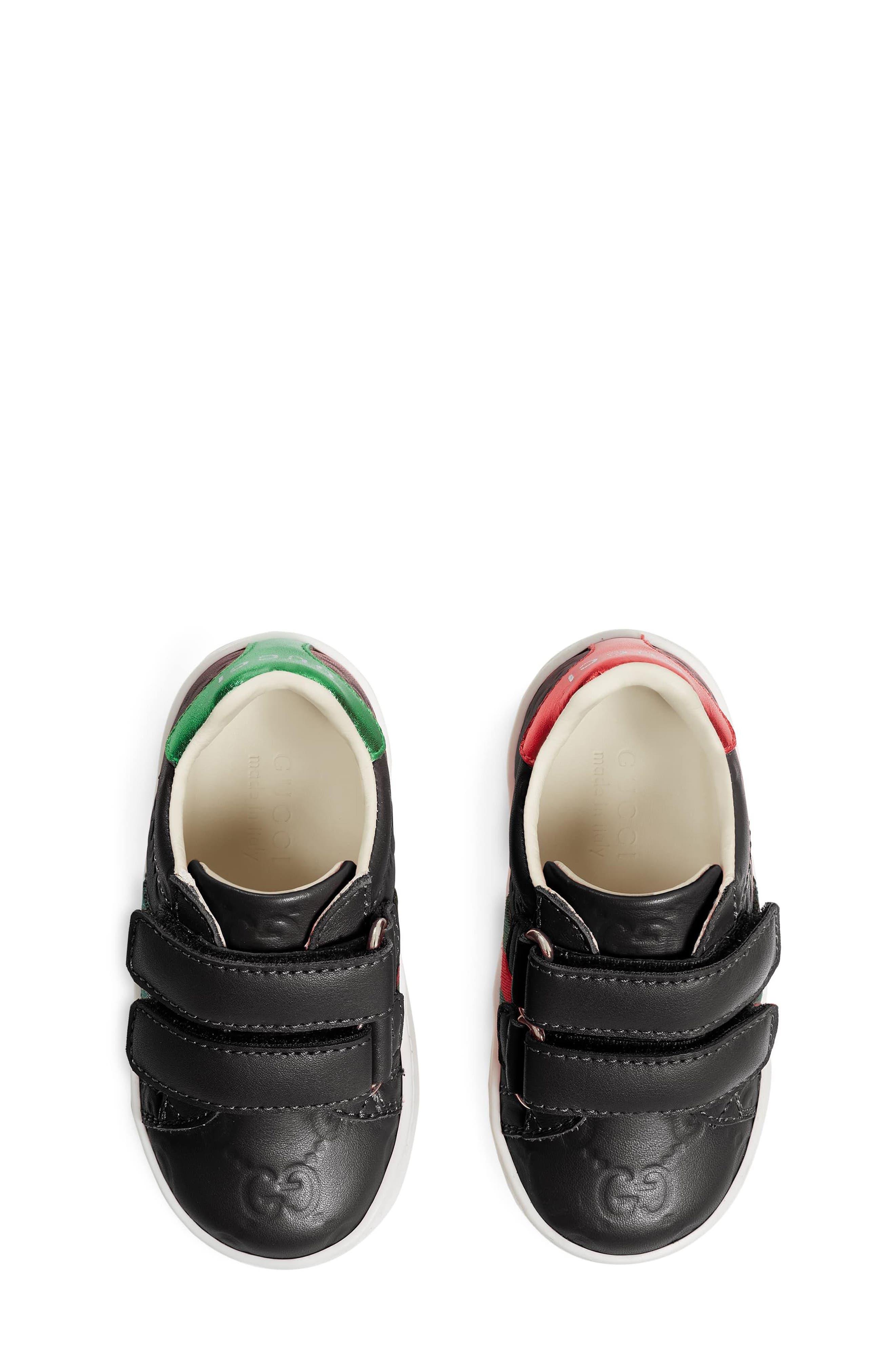 New Ace Sneaker,                             Alternate thumbnail 3, color,                             BLACK