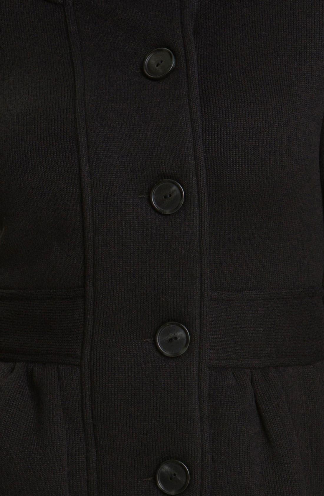 PATAGONIA,                             'Better Sweater' Coat,                             Alternate thumbnail 3, color,                             001