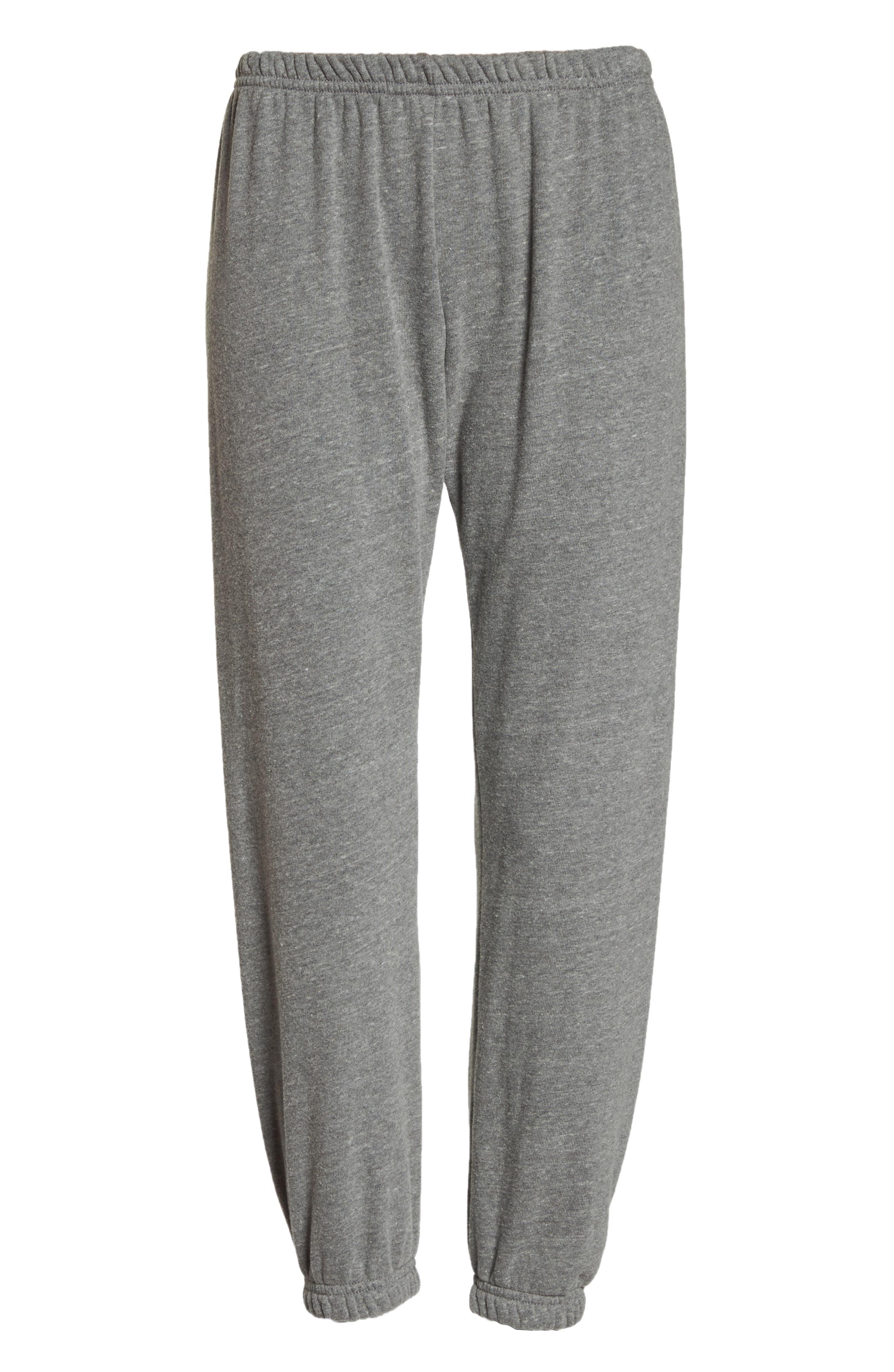 Varsity Perfect Sweatpants,                             Alternate thumbnail 7, color,                             HEATHER GREY