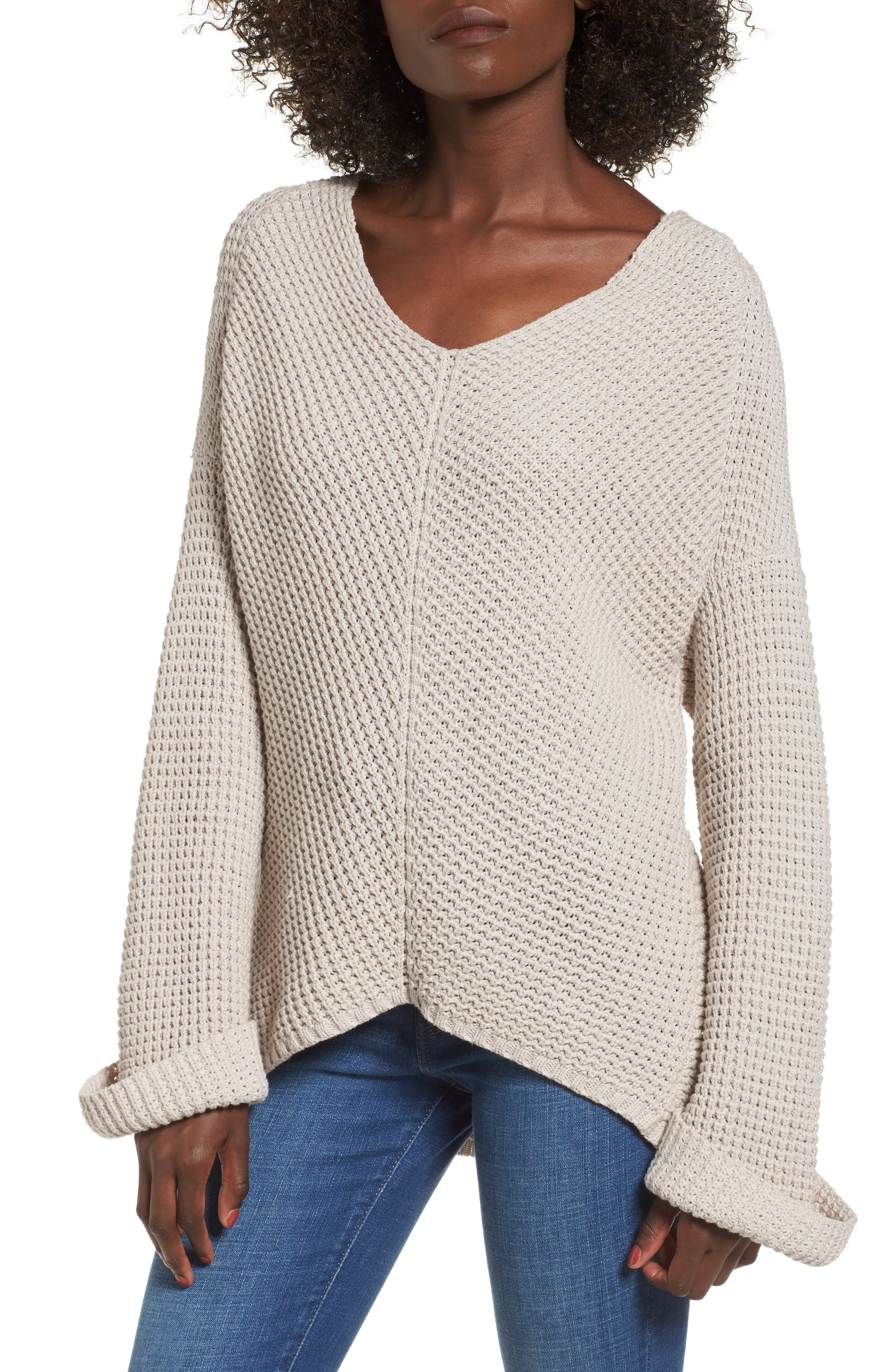 Adelia Bell Sleeve Sweater,                             Main thumbnail 1, color,                             900