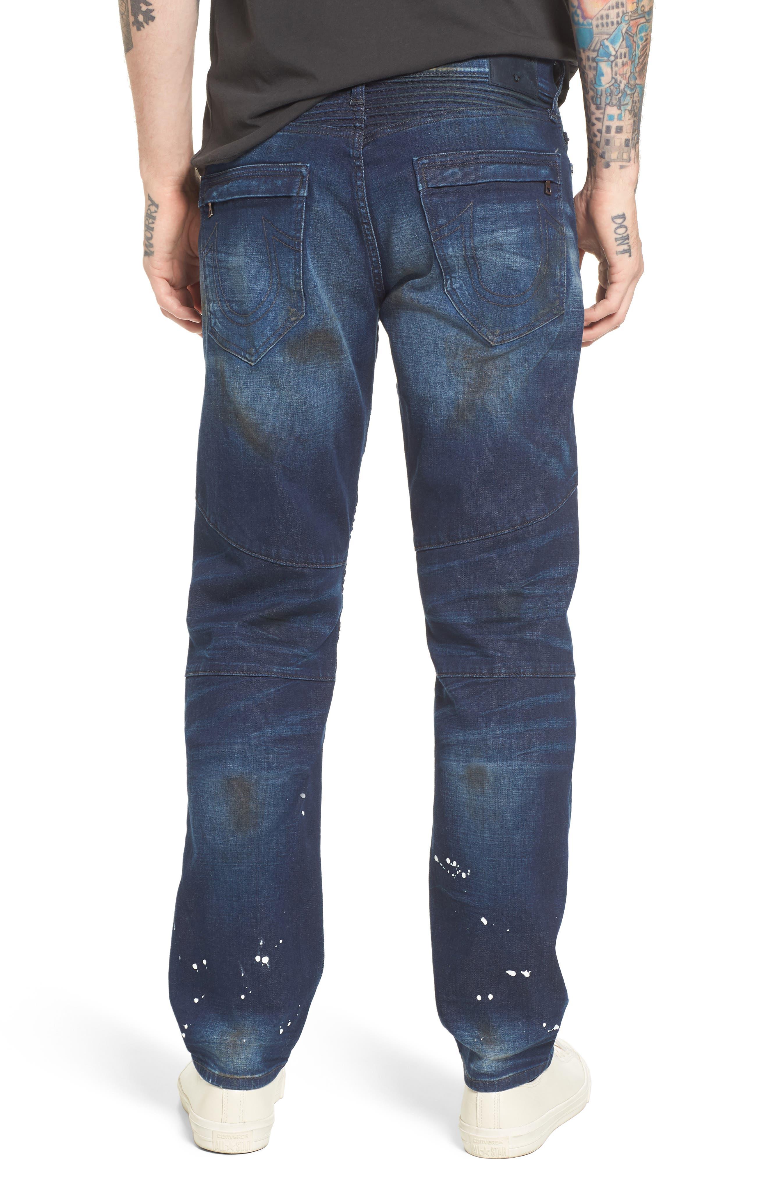 Geno Straight Leg Jeans,                             Alternate thumbnail 2, color,                             FRAGMENT SHADOW