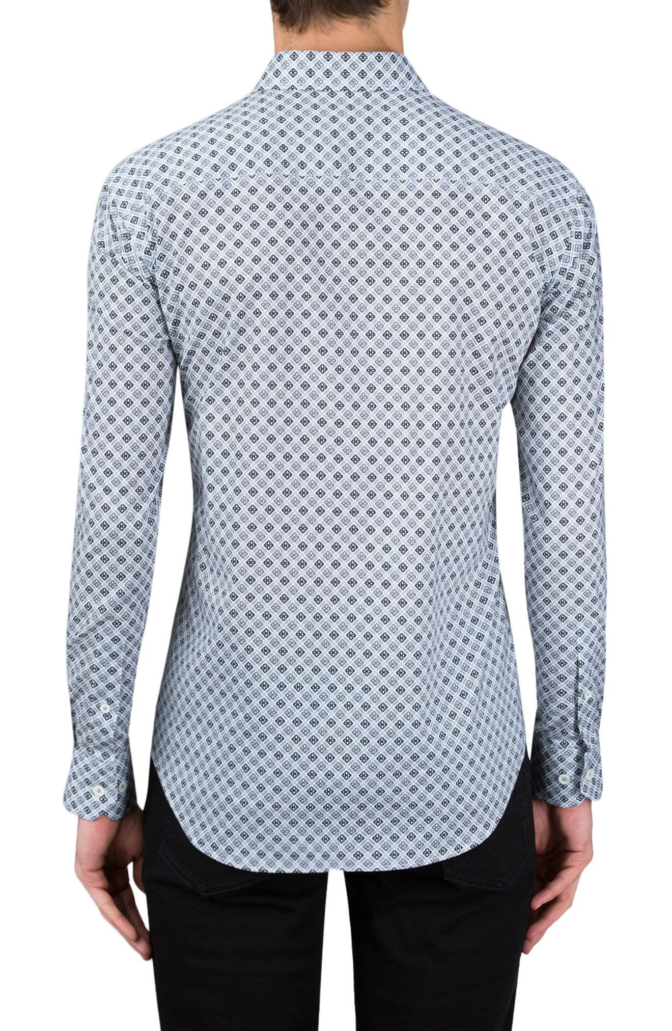 Shaped Fit Sport Shirt,                             Alternate thumbnail 2, color,                             020