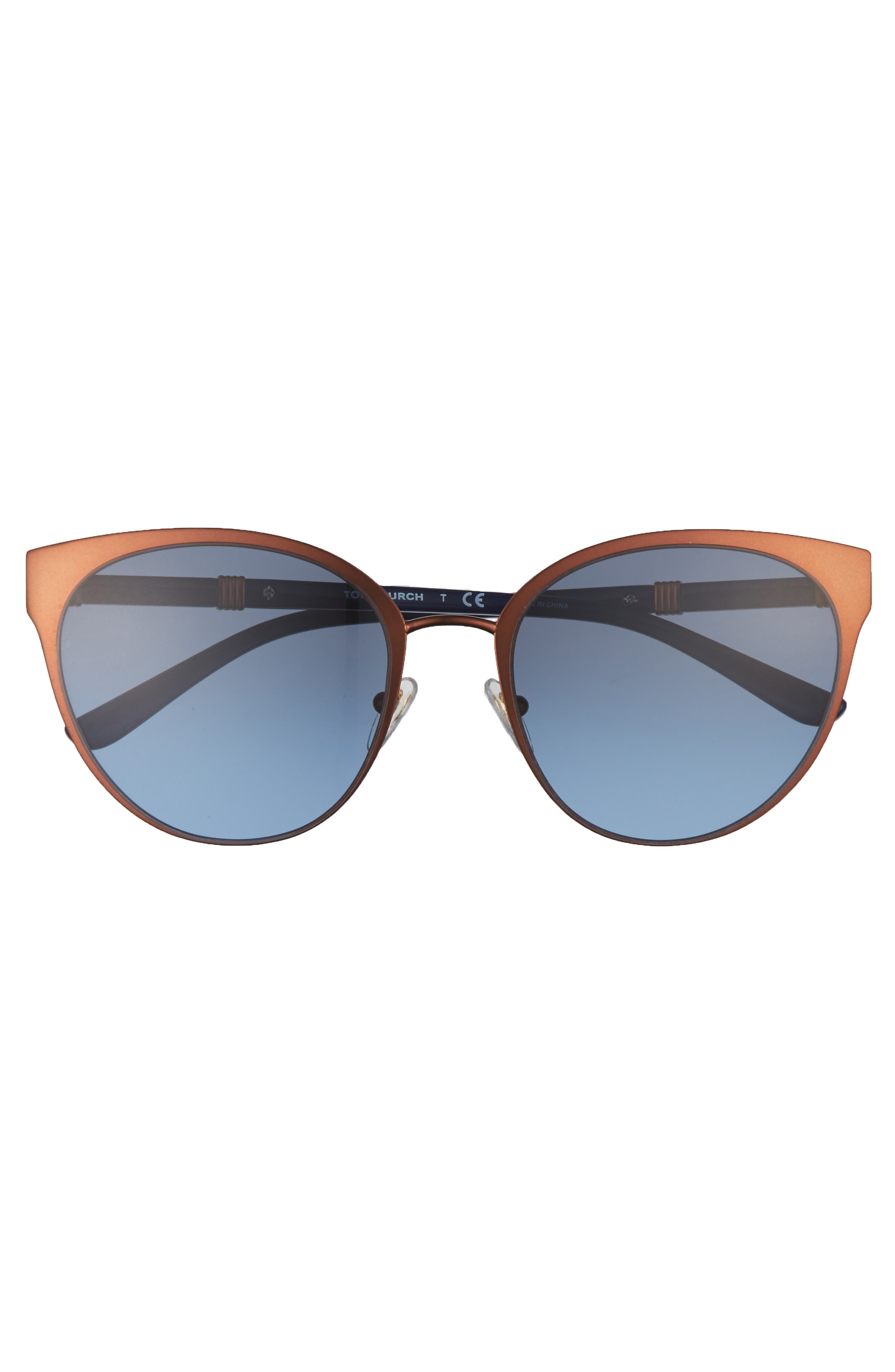 55mm Cat Eye Sunglasses,                             Alternate thumbnail 3, color,                             220