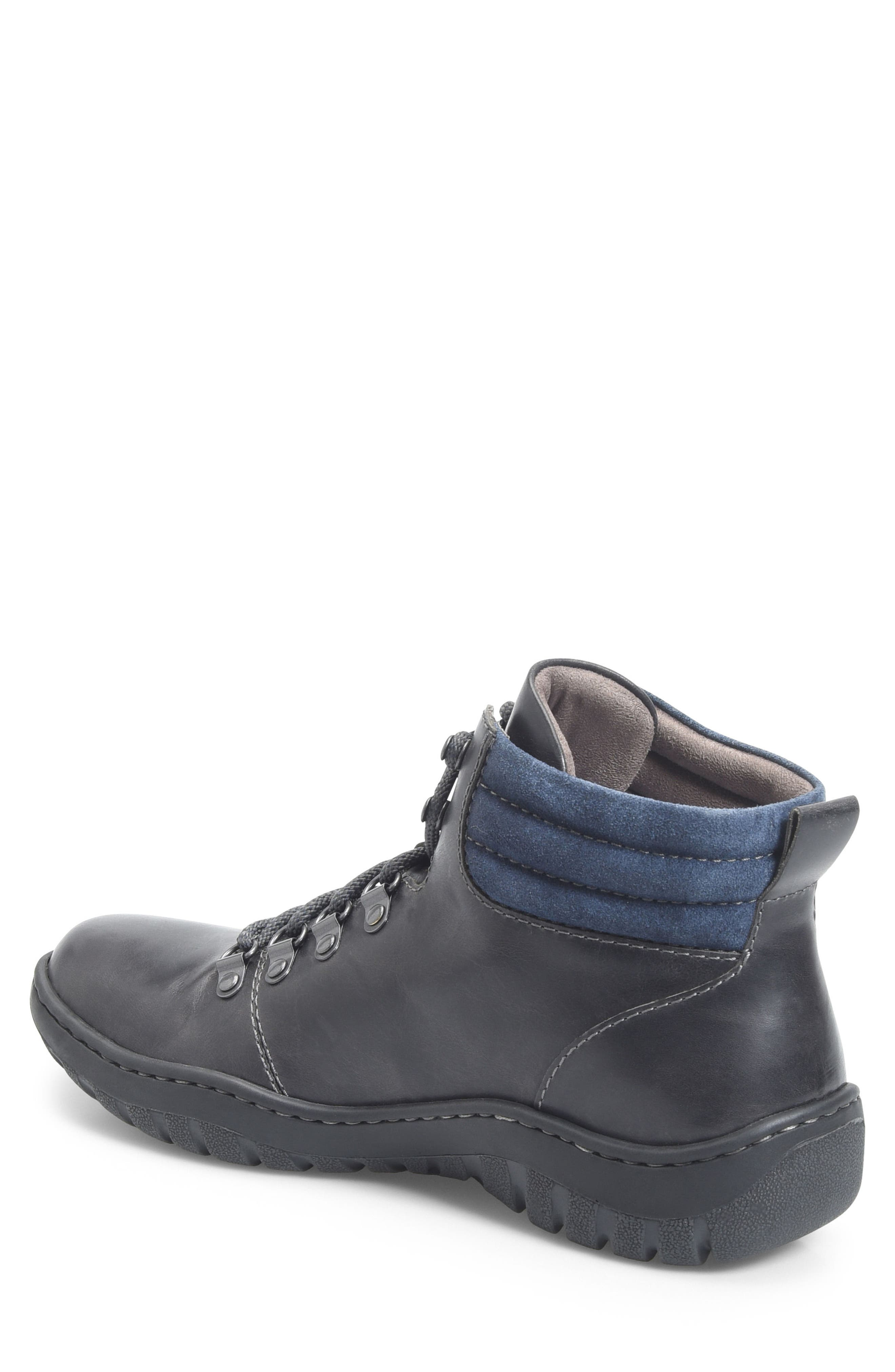 Dutchman Plain Toe Boot,                             Alternate thumbnail 2, color,                             DARK GREY/ BLUE