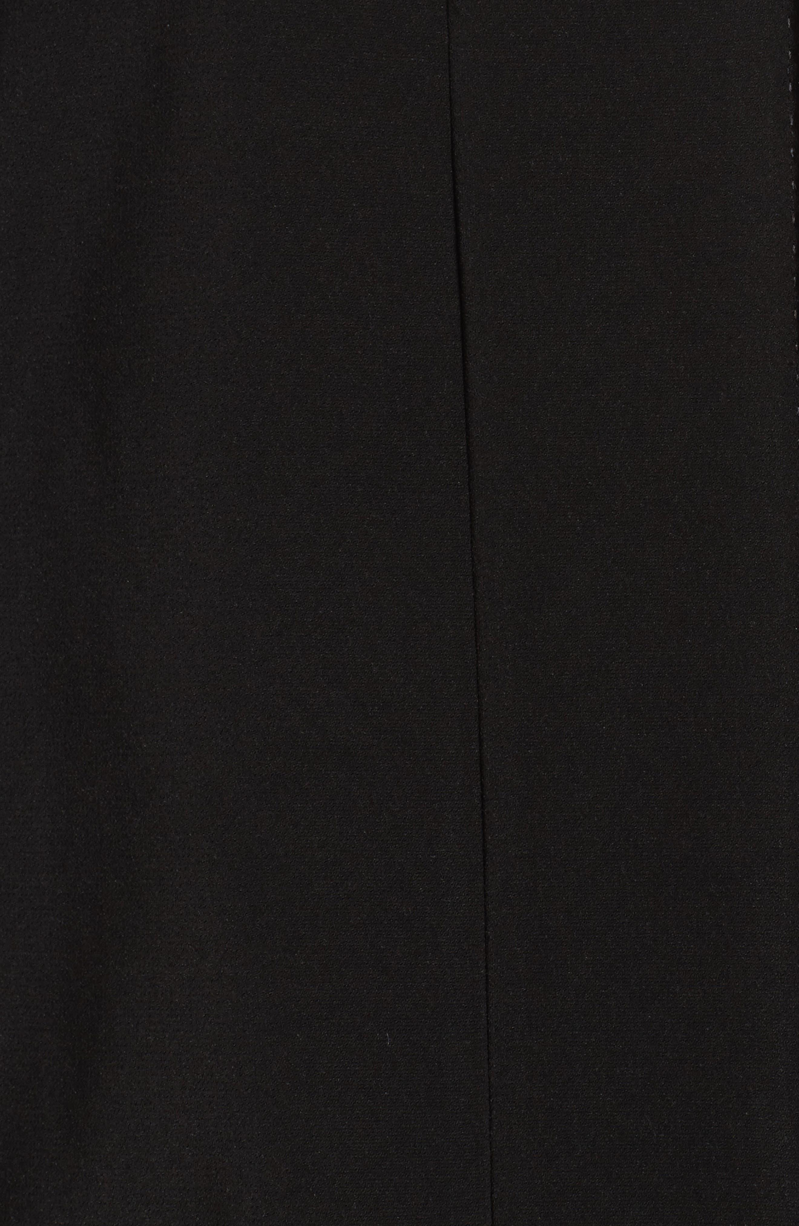 A-Line Raincoat with Detachable Hood & Liner,                             Alternate thumbnail 6, color,                             001