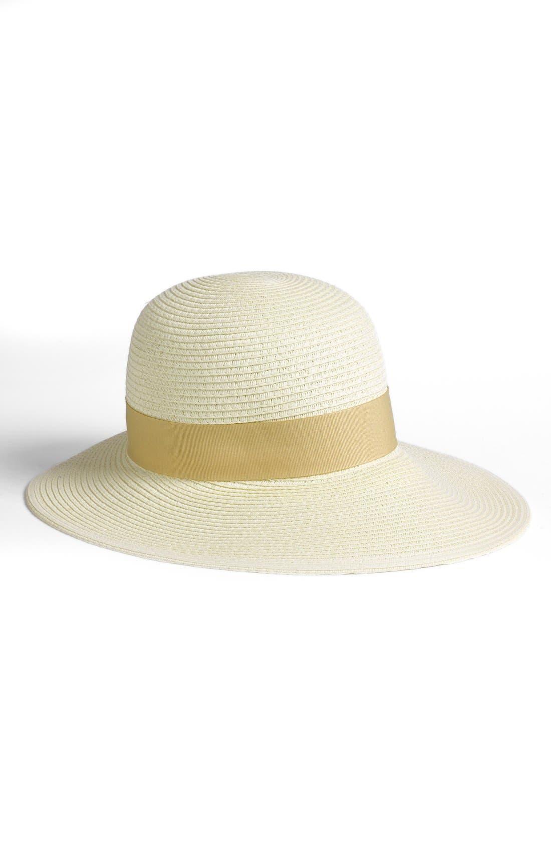 Wide Brim Sun Hat,                             Main thumbnail 3, color,