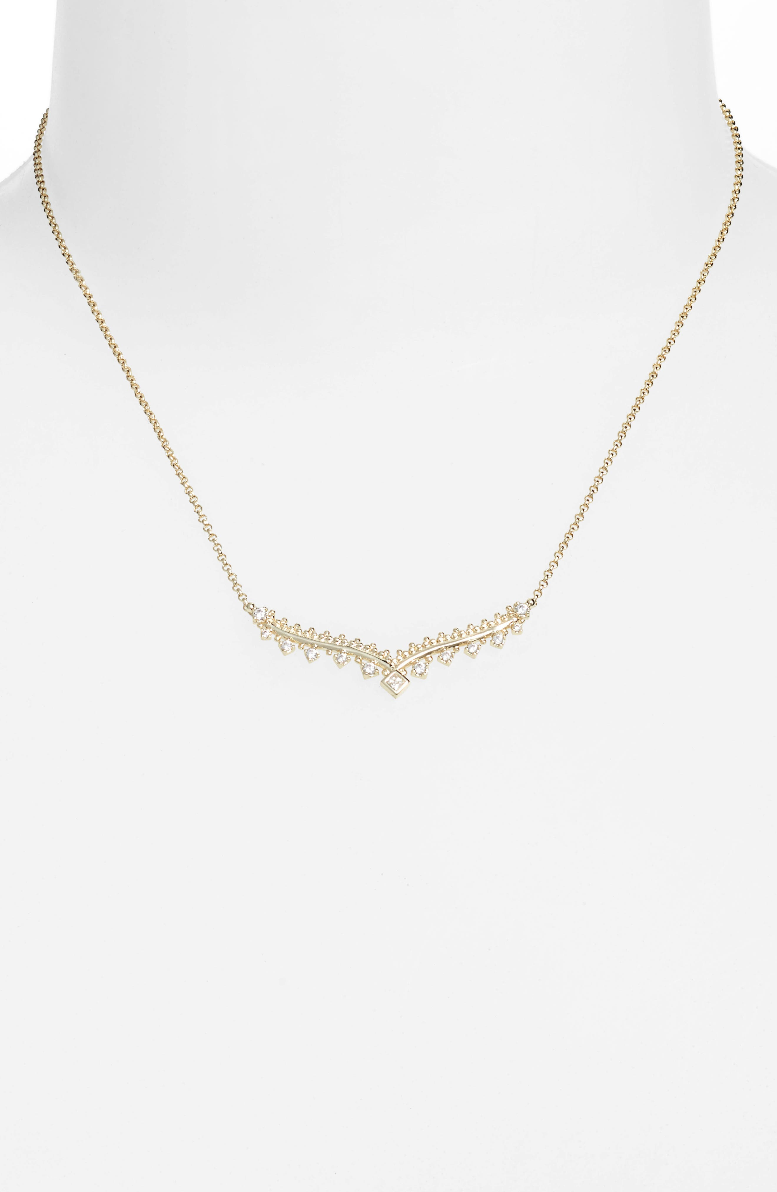 Vern Frontal Necklace,                             Alternate thumbnail 6, color,