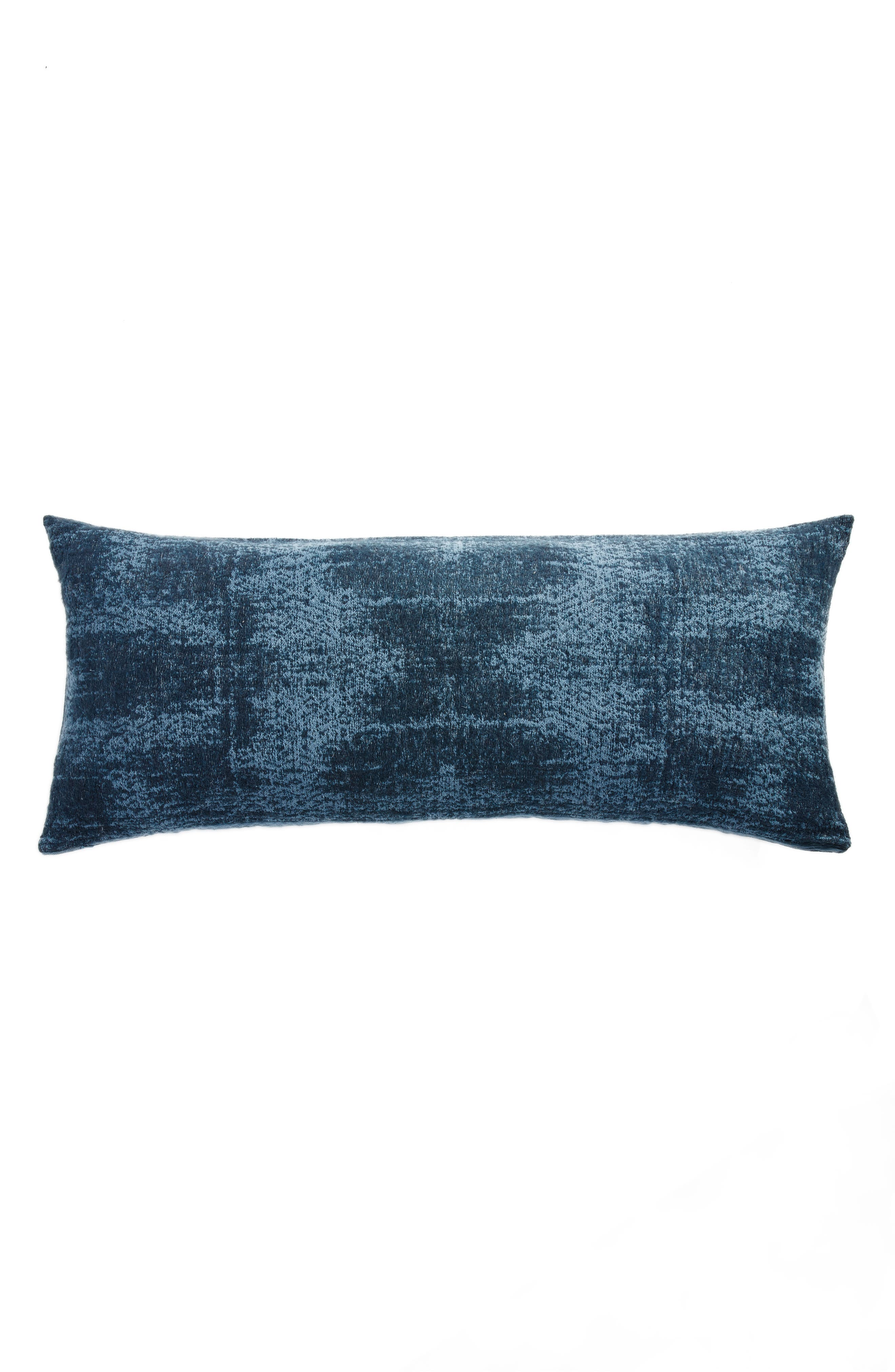 Distressed Geo Accent Pillow,                             Main thumbnail 1, color,                             BLUE MIRAGE