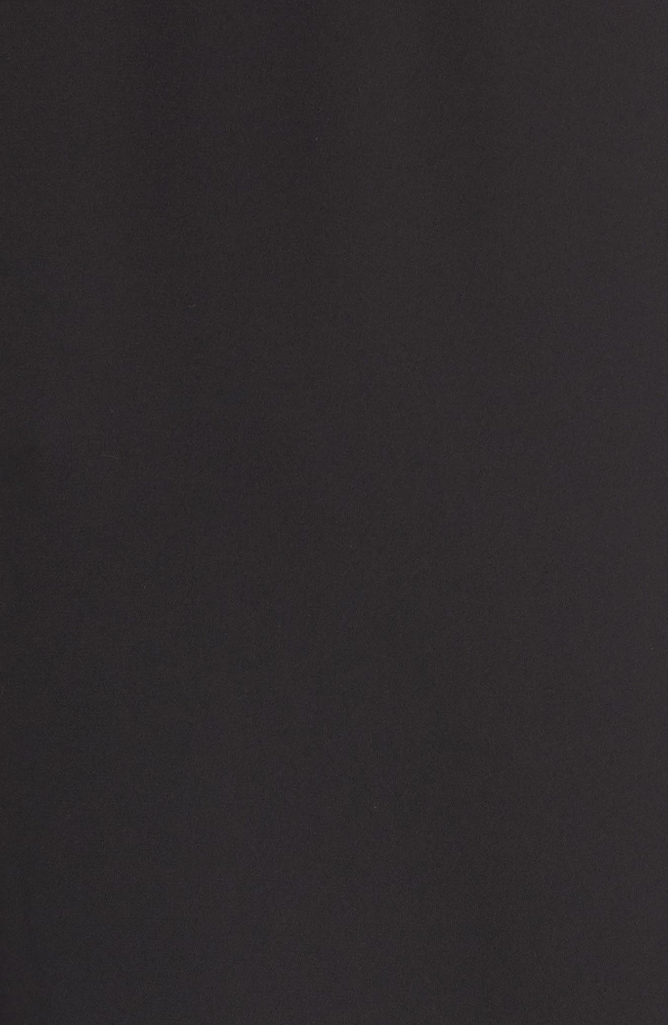 Perfect Roll Tab Sleeve Tunic,                             Alternate thumbnail 6, color,                             BLACK