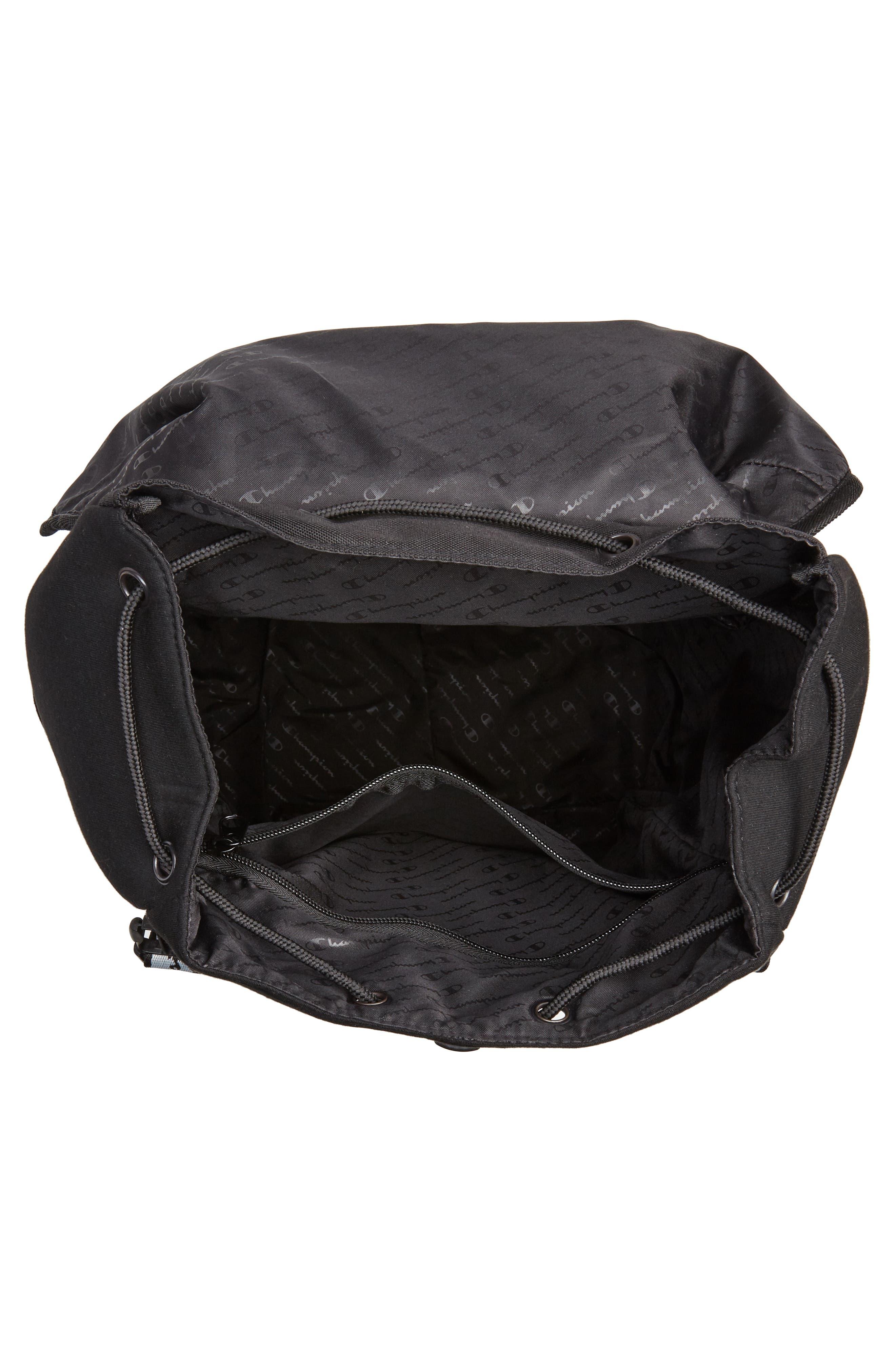 Top Load Backpack,                             Alternate thumbnail 4, color,                             BLACK
