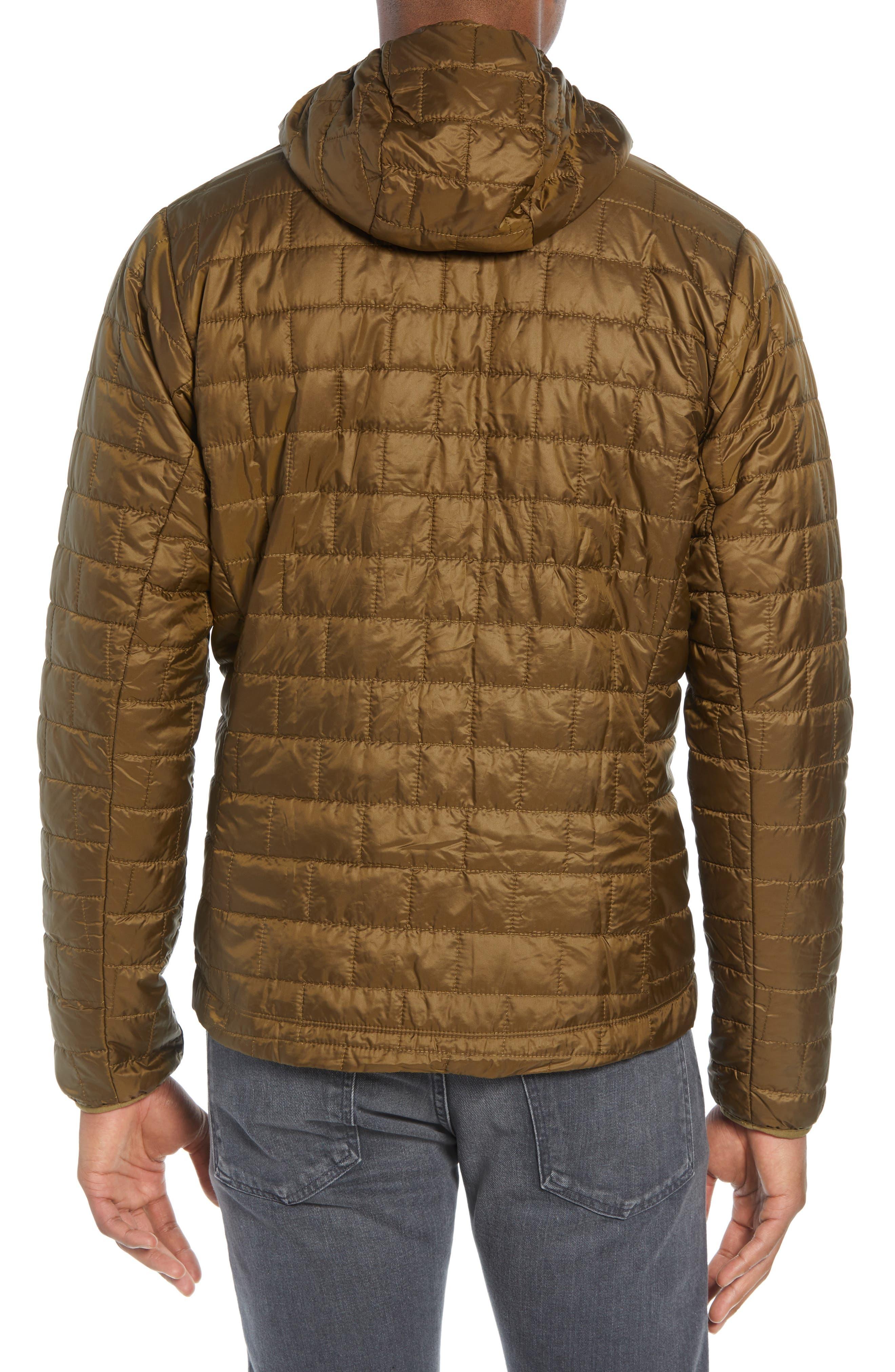 Nano Puff<sup>®</sup> Hooded Jacket,                             Alternate thumbnail 2, color,                             CARGO GREEN