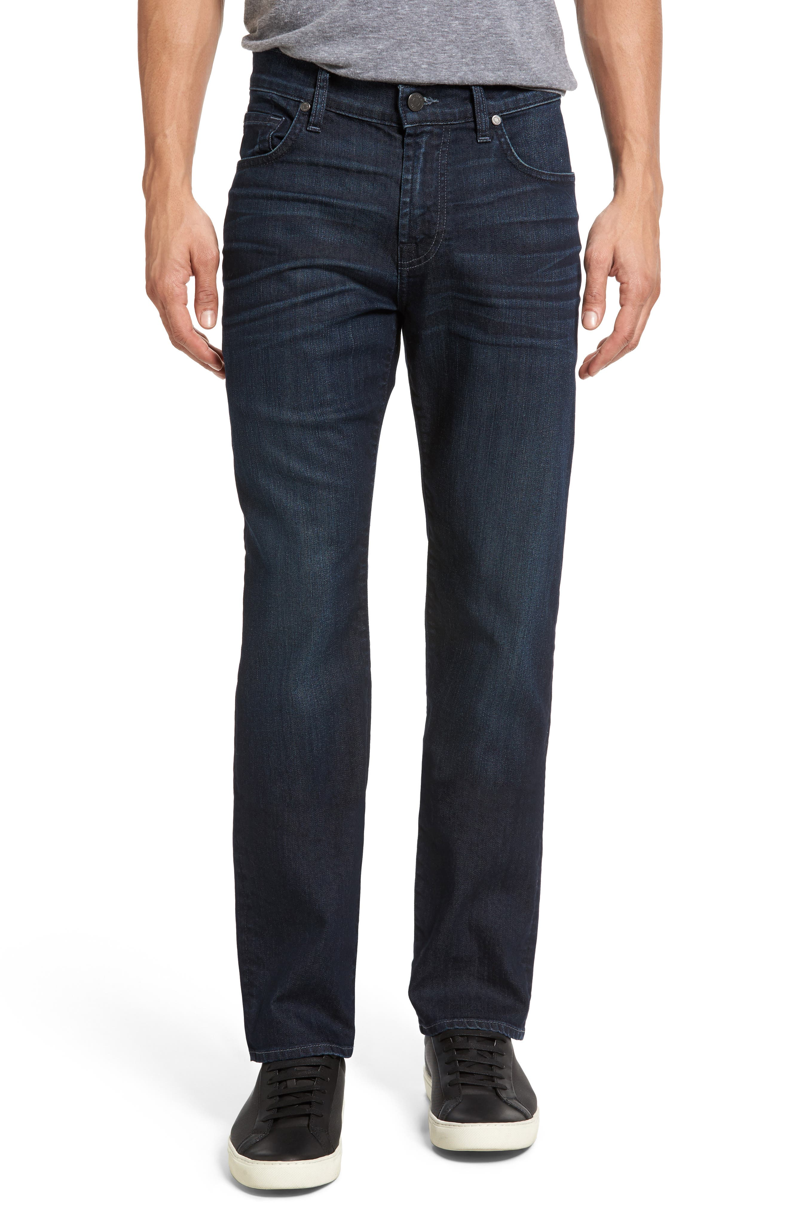 The Straight Airweft Slim Straight Slim Leg Jeans,                         Main,                         color, PERENNIAL