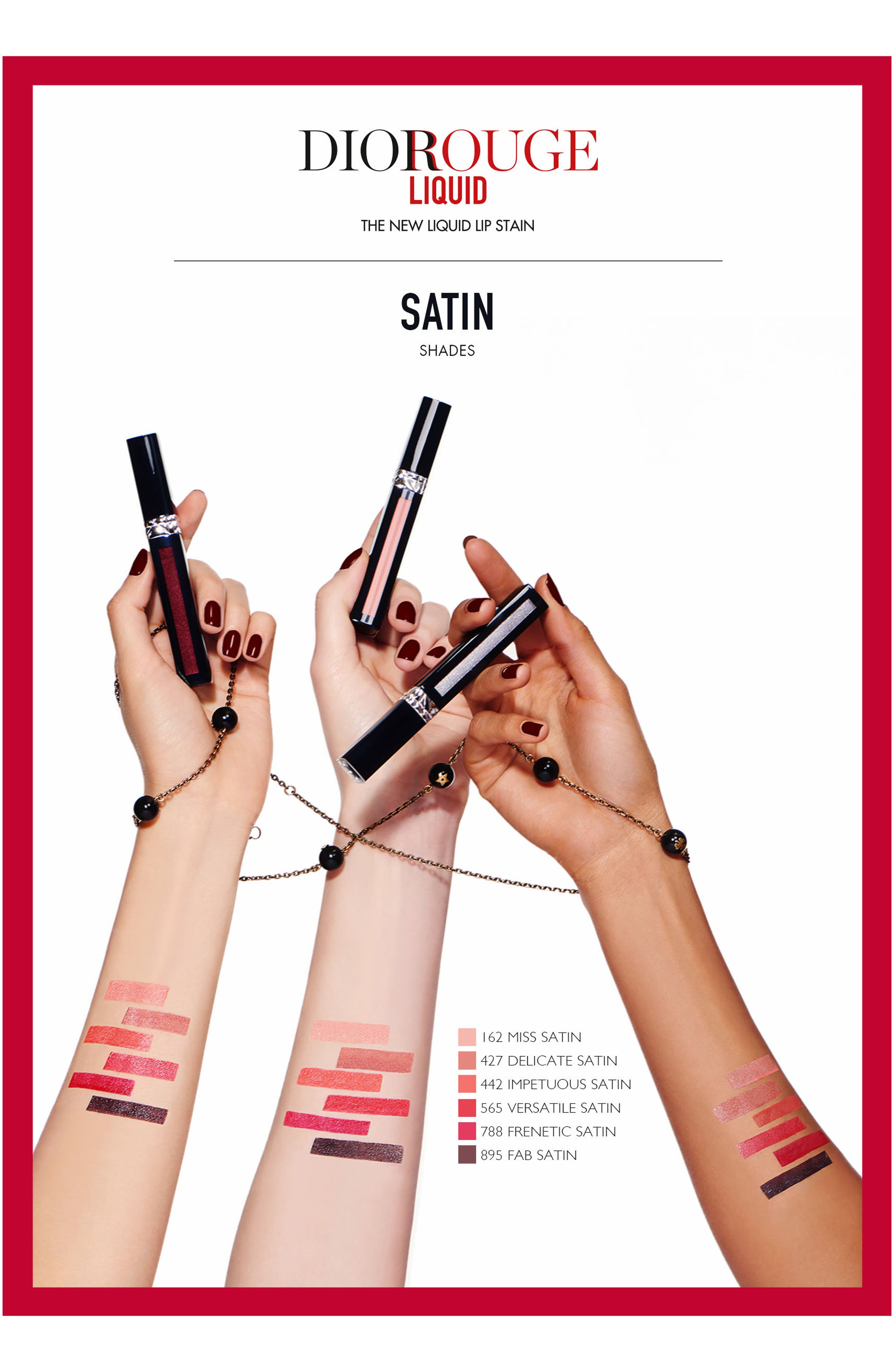 Rouge Dior Liquid Lip Stain,                             Alternate thumbnail 2, color,                             908 EXTREME BLACK