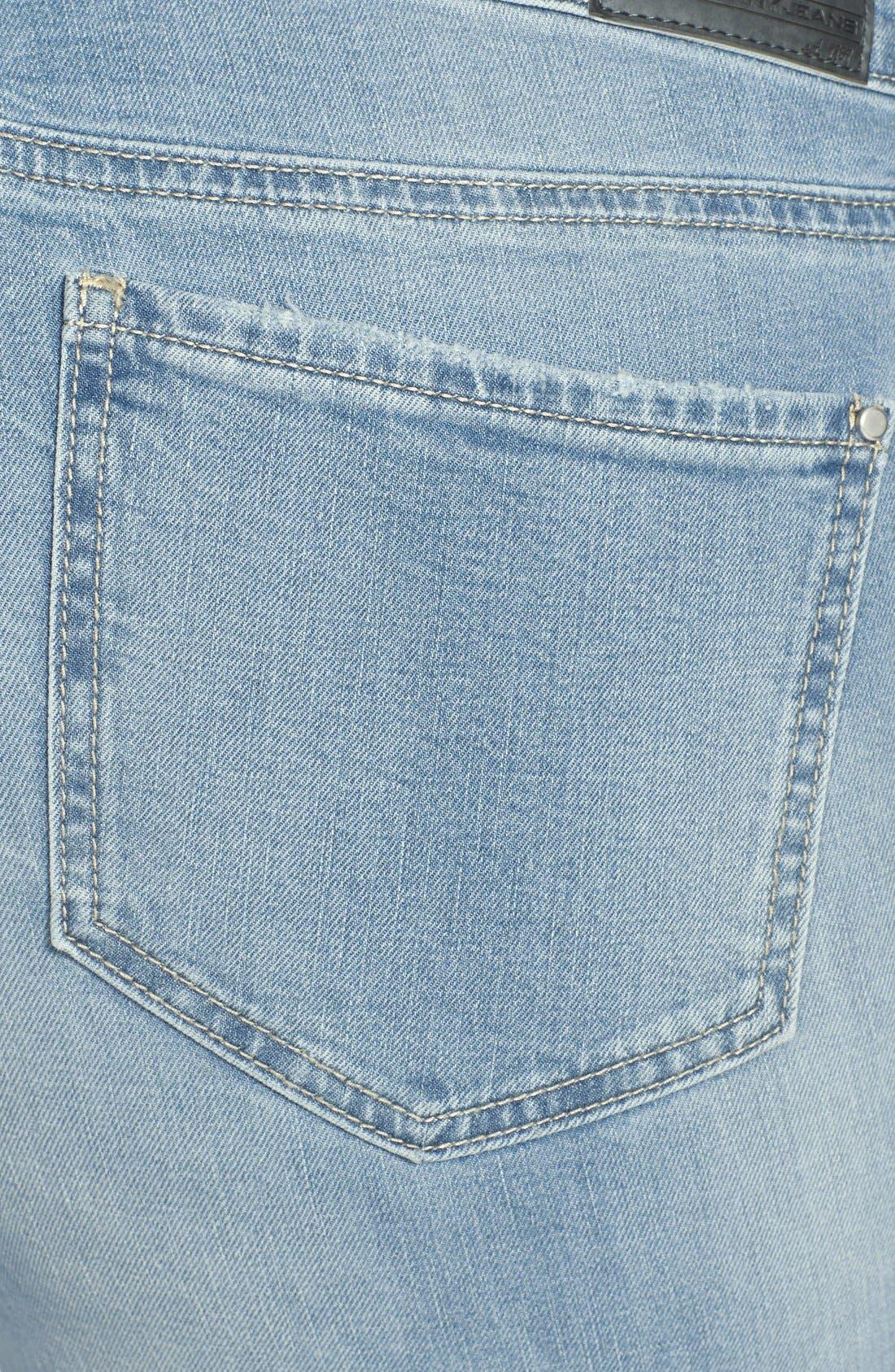 DKNY,                             'Bleecker' Boyfriend Jeans,                             Alternate thumbnail 3, color,                             400
