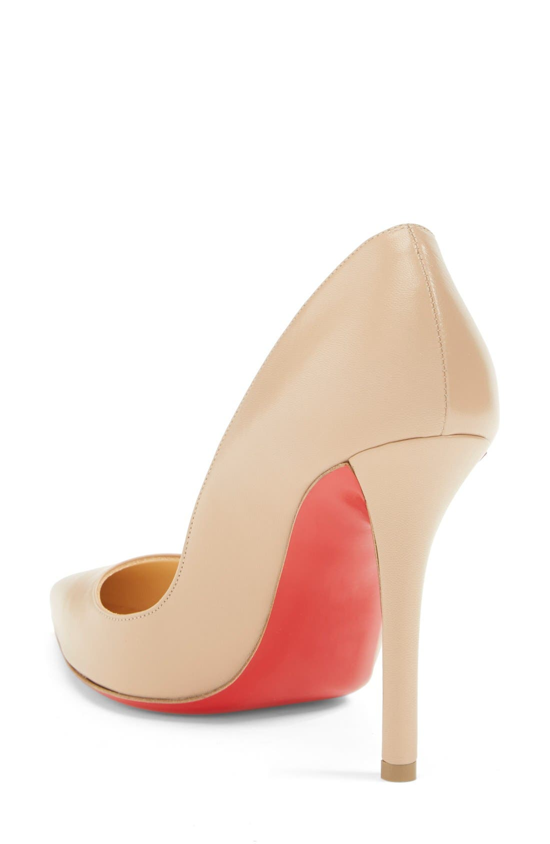 'Apostrophy' Pointy Toe Pump,                             Alternate thumbnail 10, color,