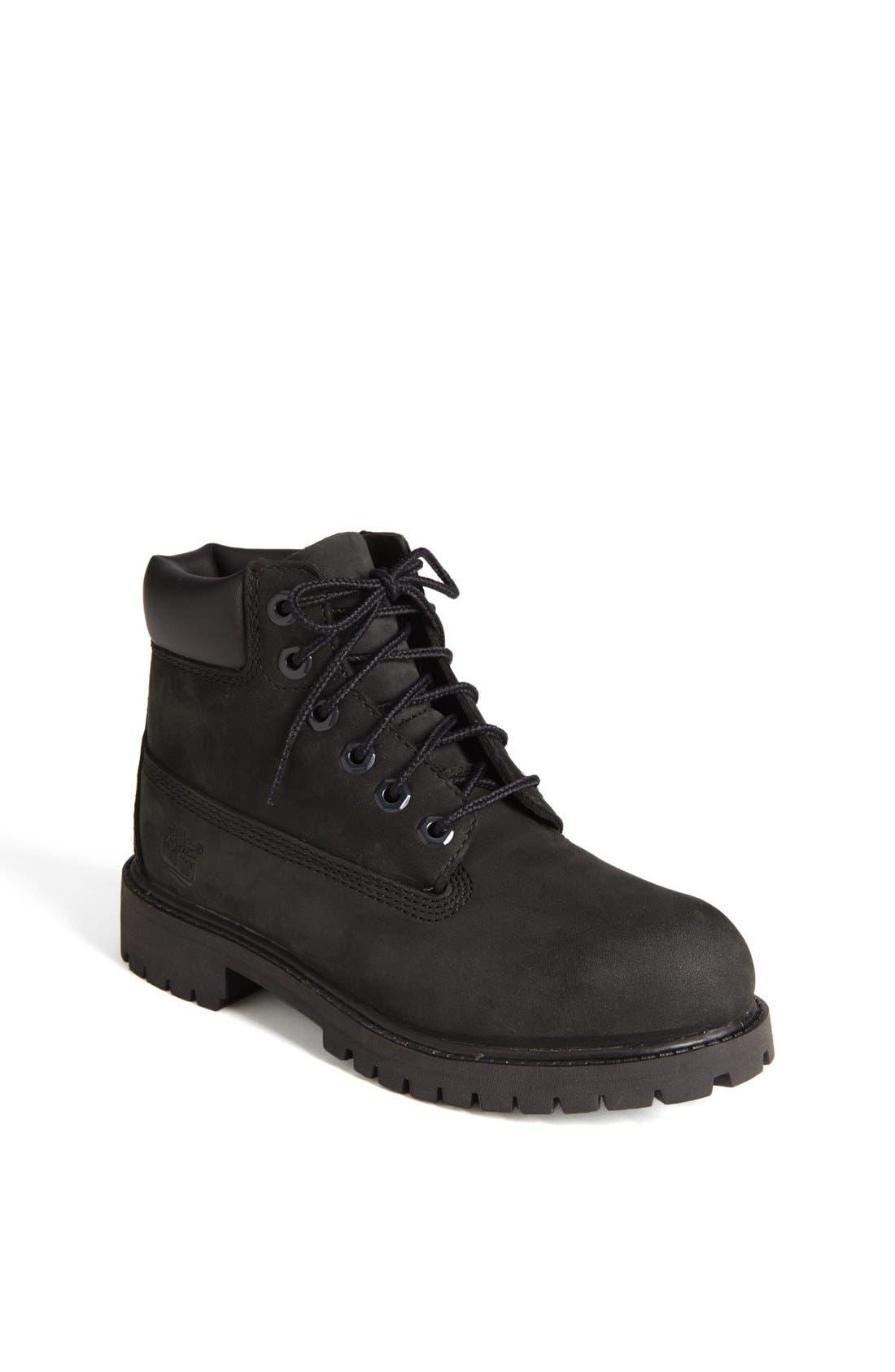 '6 Inch Premium' Waterproof Boot,                         Main,                         color, 001