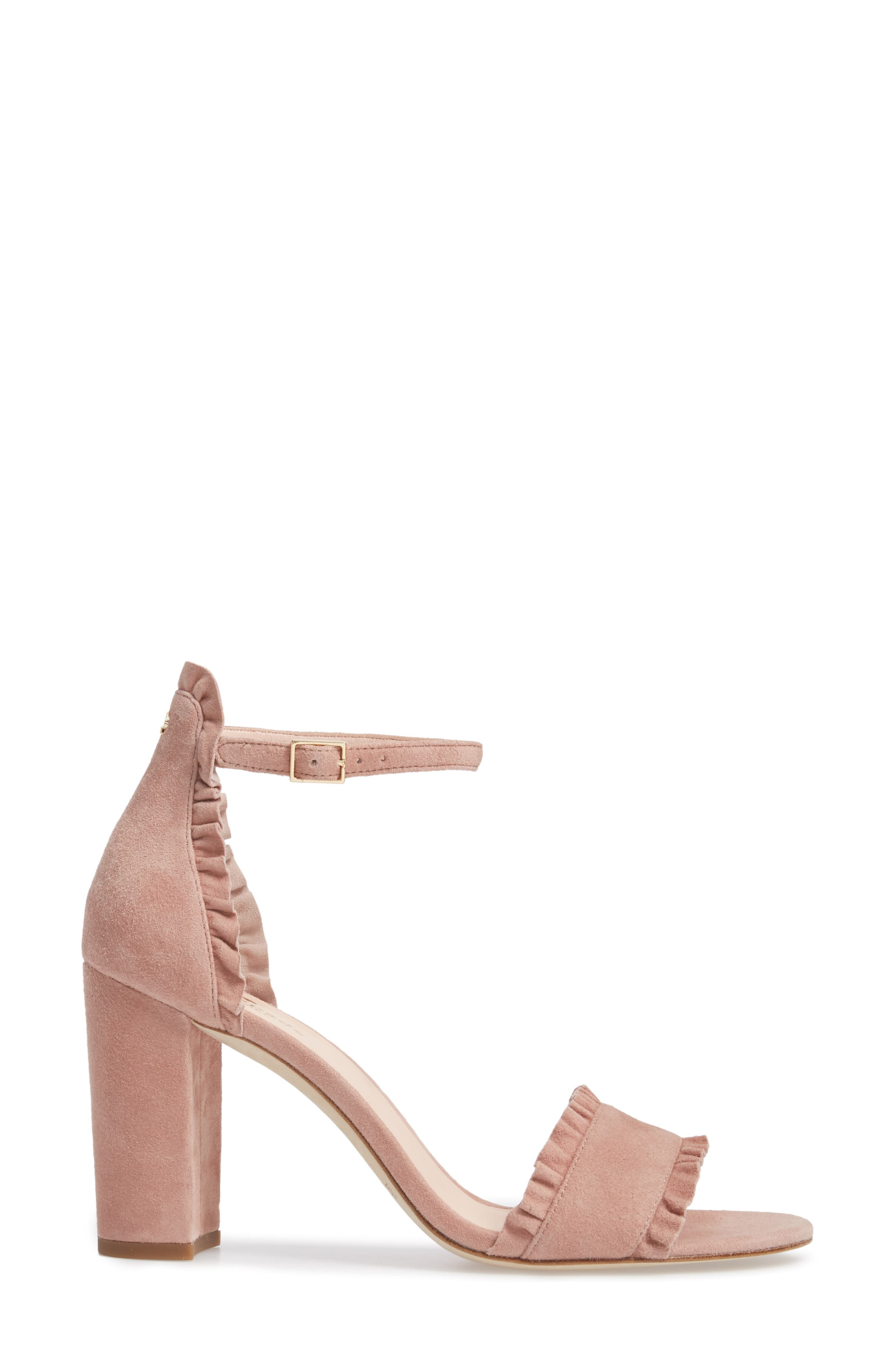 odele ruffle sandal,                             Alternate thumbnail 6, color,