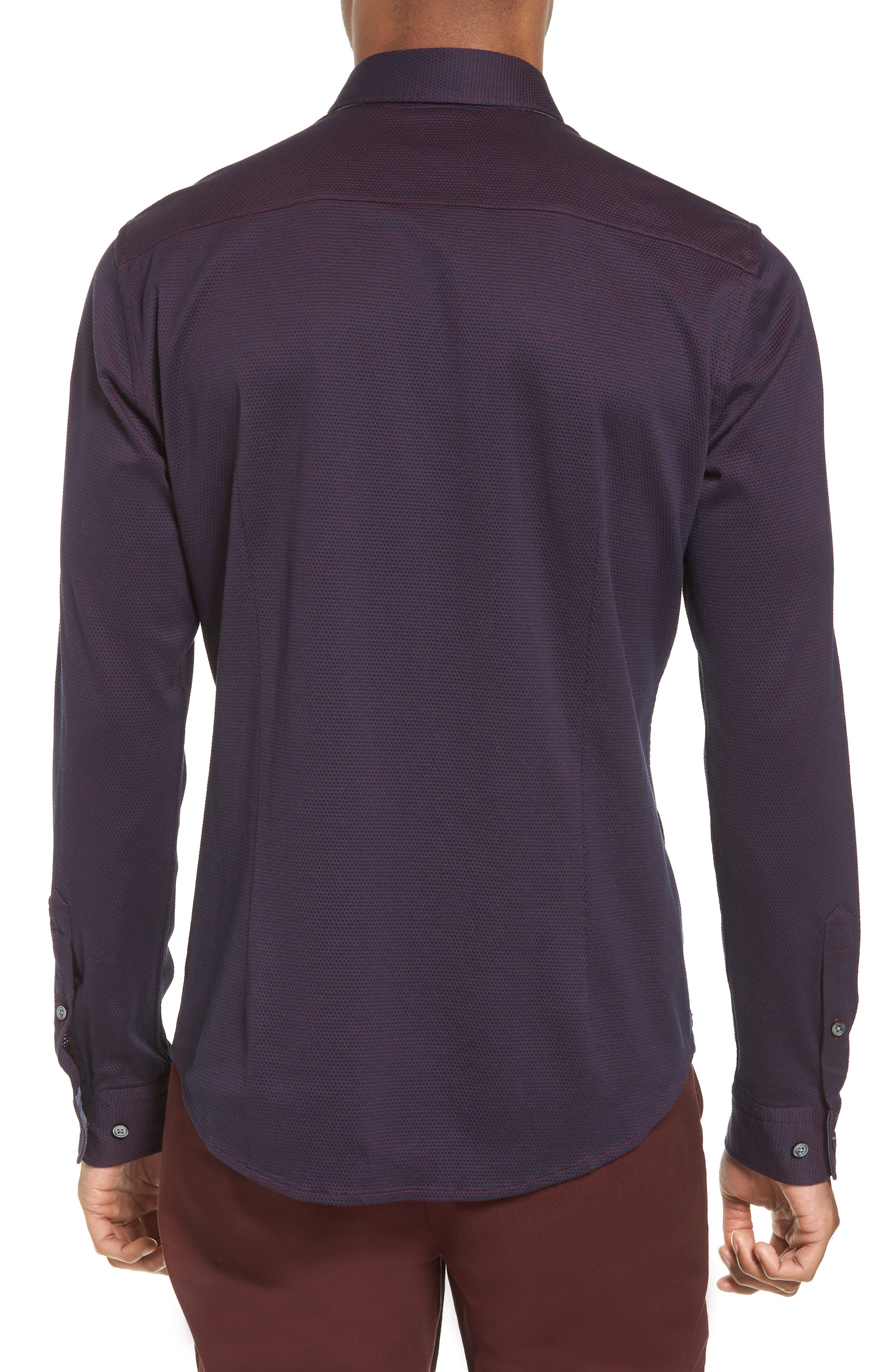 Ridley Slim Fit Jersey Sport Shirt,                             Alternate thumbnail 2, color,